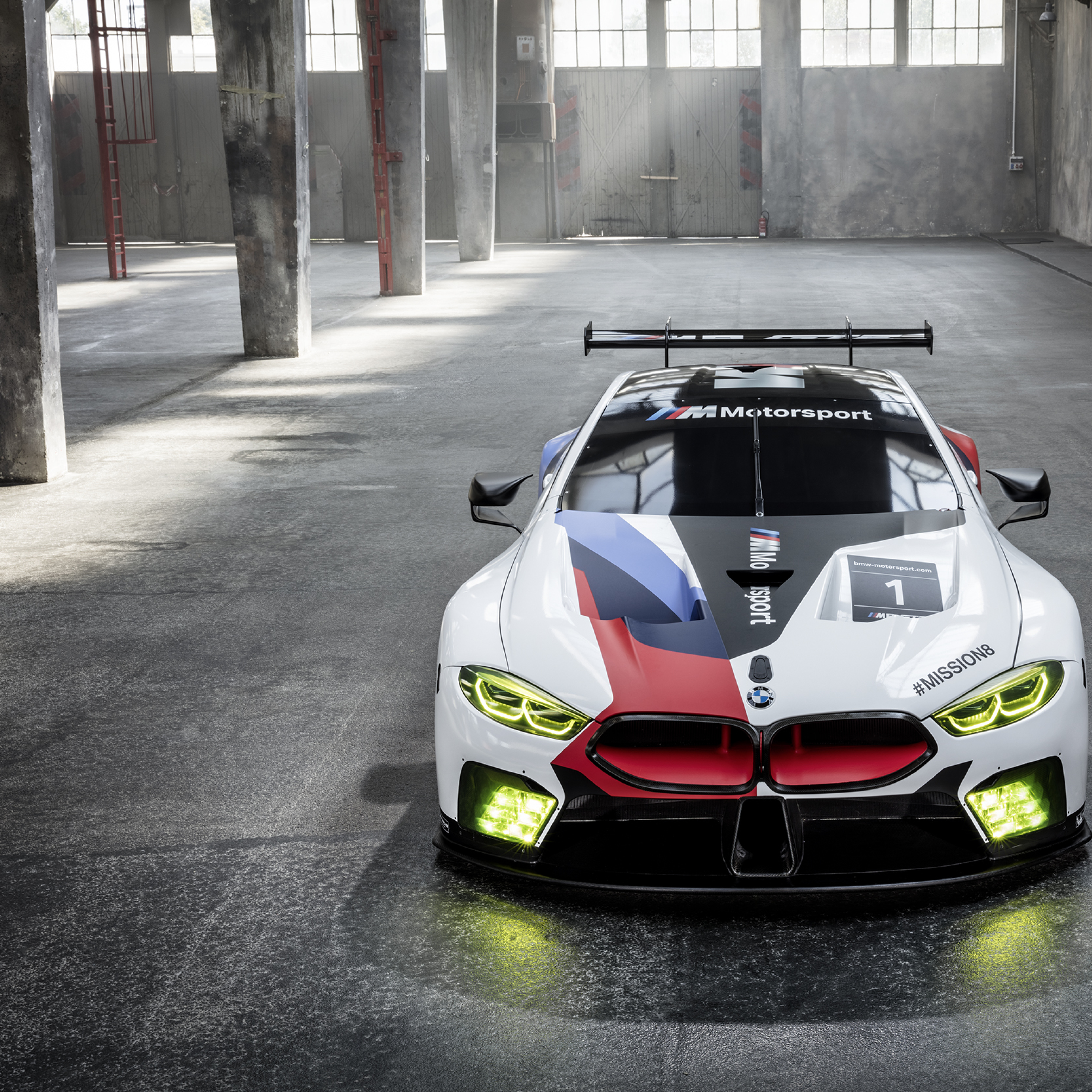 2018 Bmw M8 Gte, Full HD 2K Wallpaper