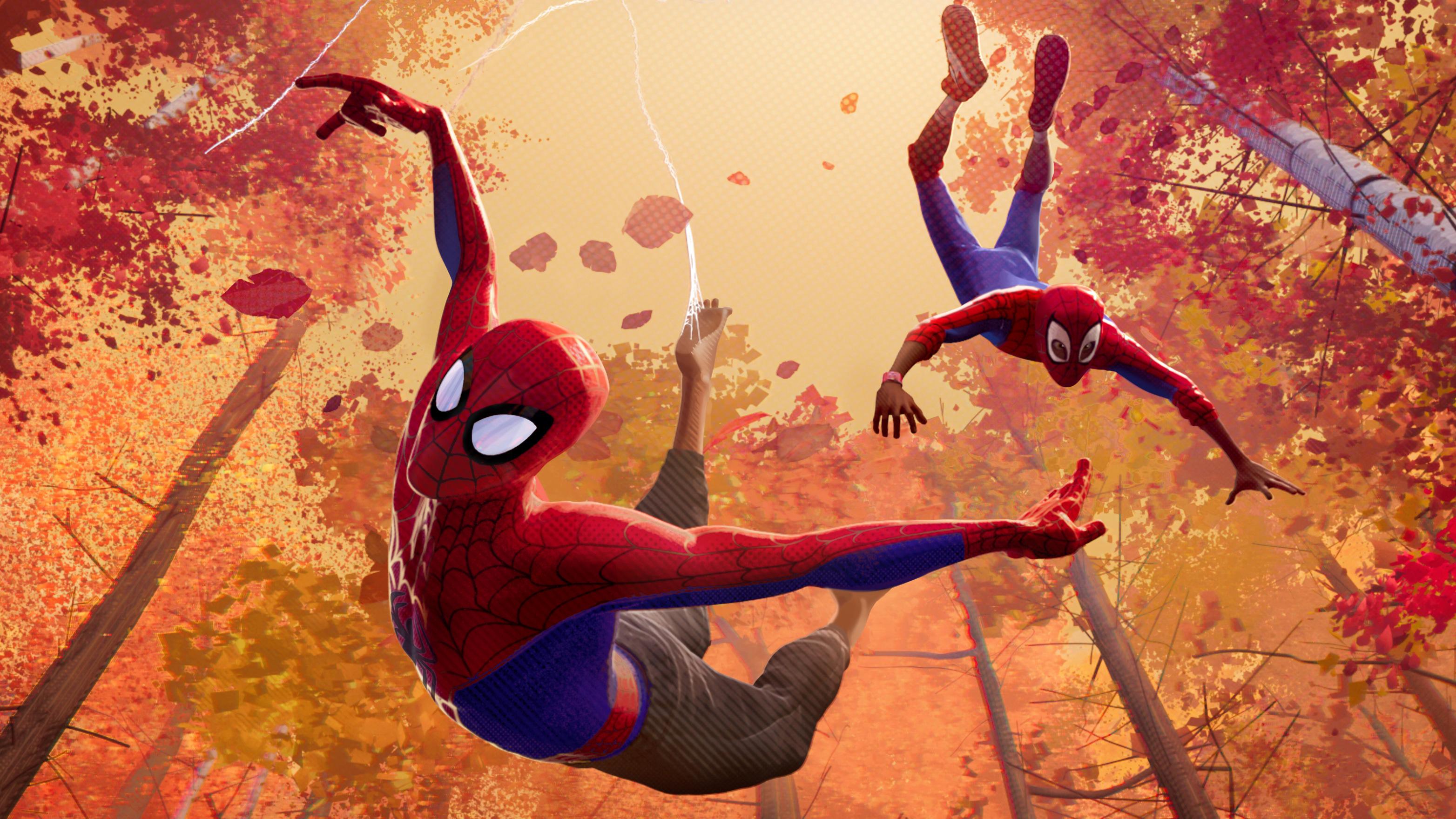 2018 Spider-man Into The Spider Verse Movie, HD 4K Wallpaper