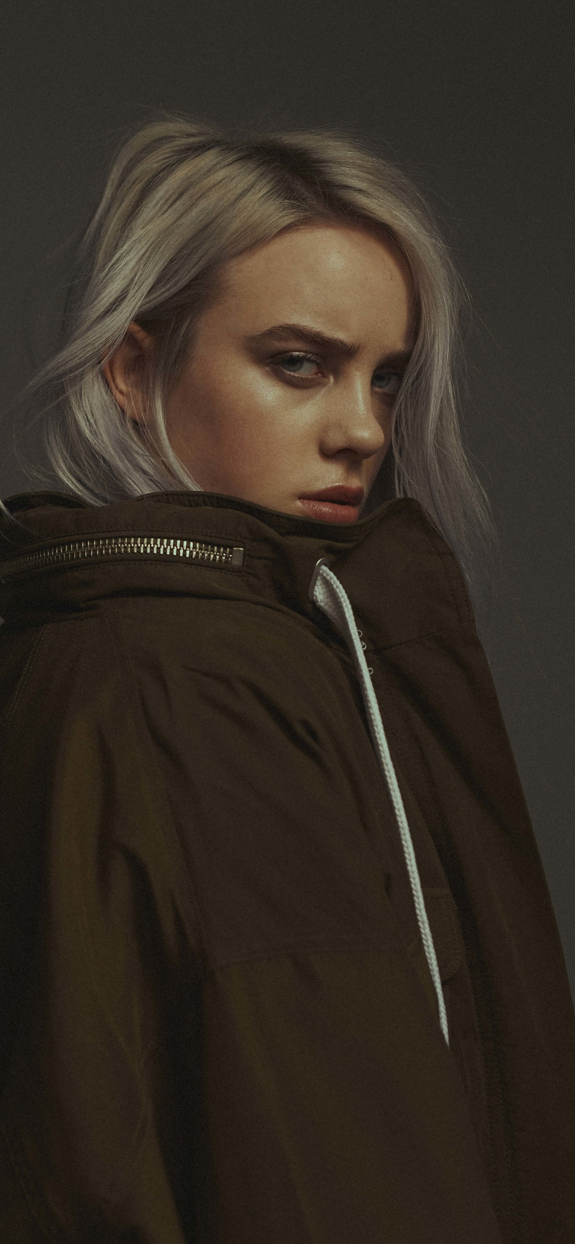1125x2436 2019 Billie Eilish 4K Iphone XS,Iphone 10,Iphone ...