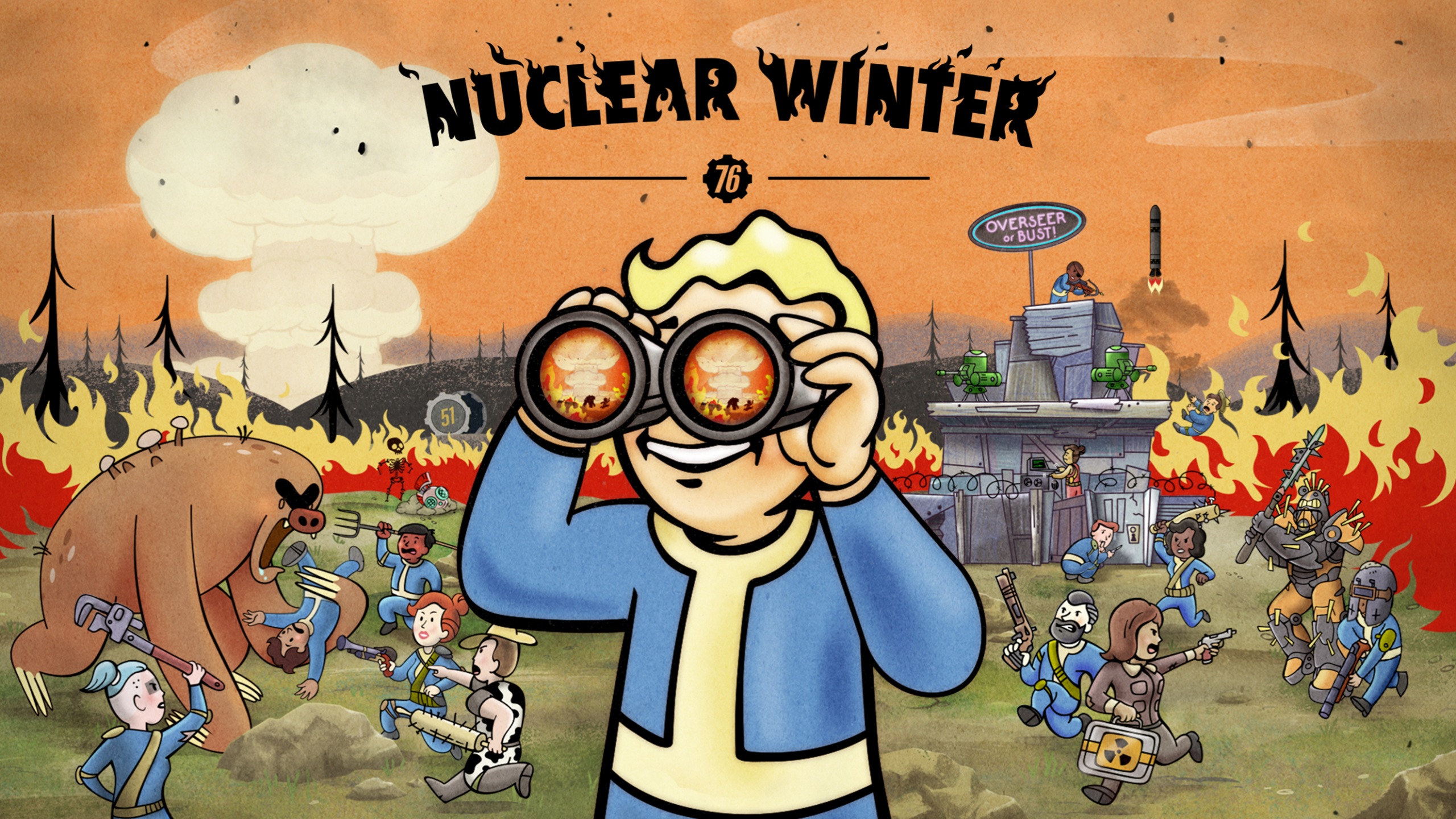 2560x1440 2019 Fallout 76 Nuclear Winter 1440P Resolution ...