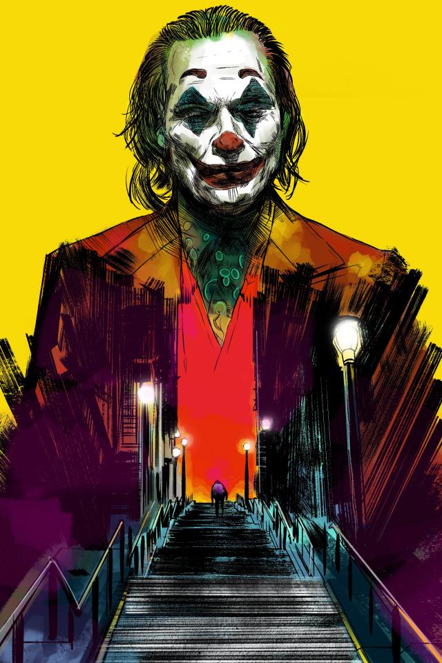 640x960 2019 Joker Movie 4k iPhone 4, iPhone 4S Wallpaper ...