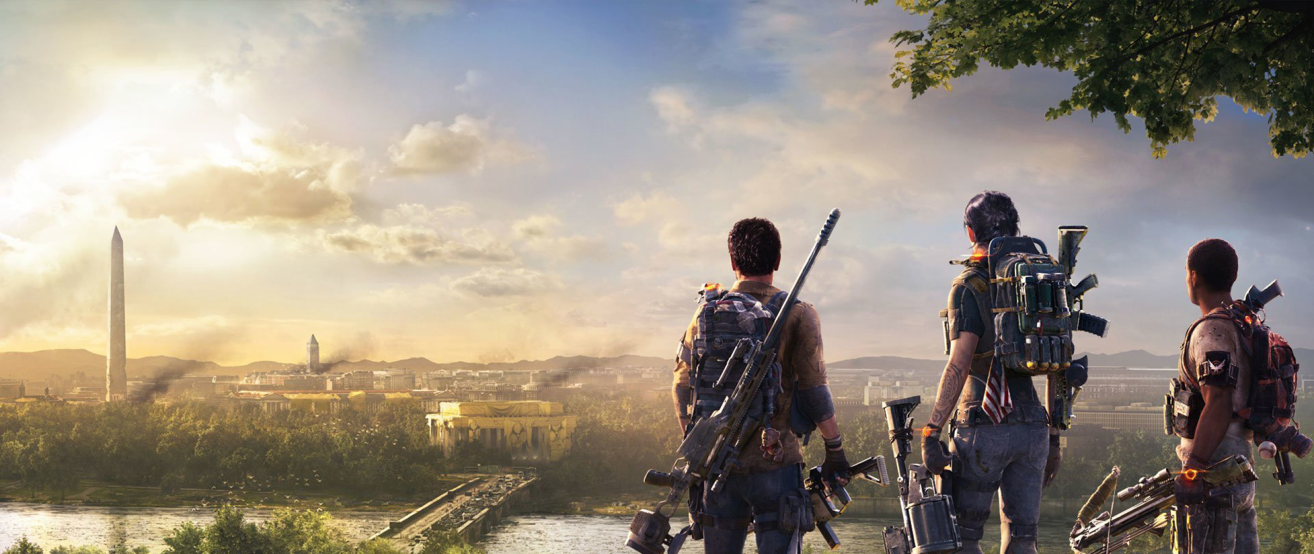 2560x1080 2019 The Division 2 Game 2560x1080 Resolution Wallpaper