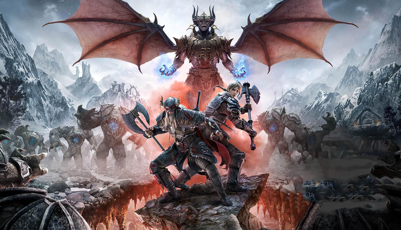 1336x768 2020 The Elder Scrolls Online Greymoor HD Laptop ...
