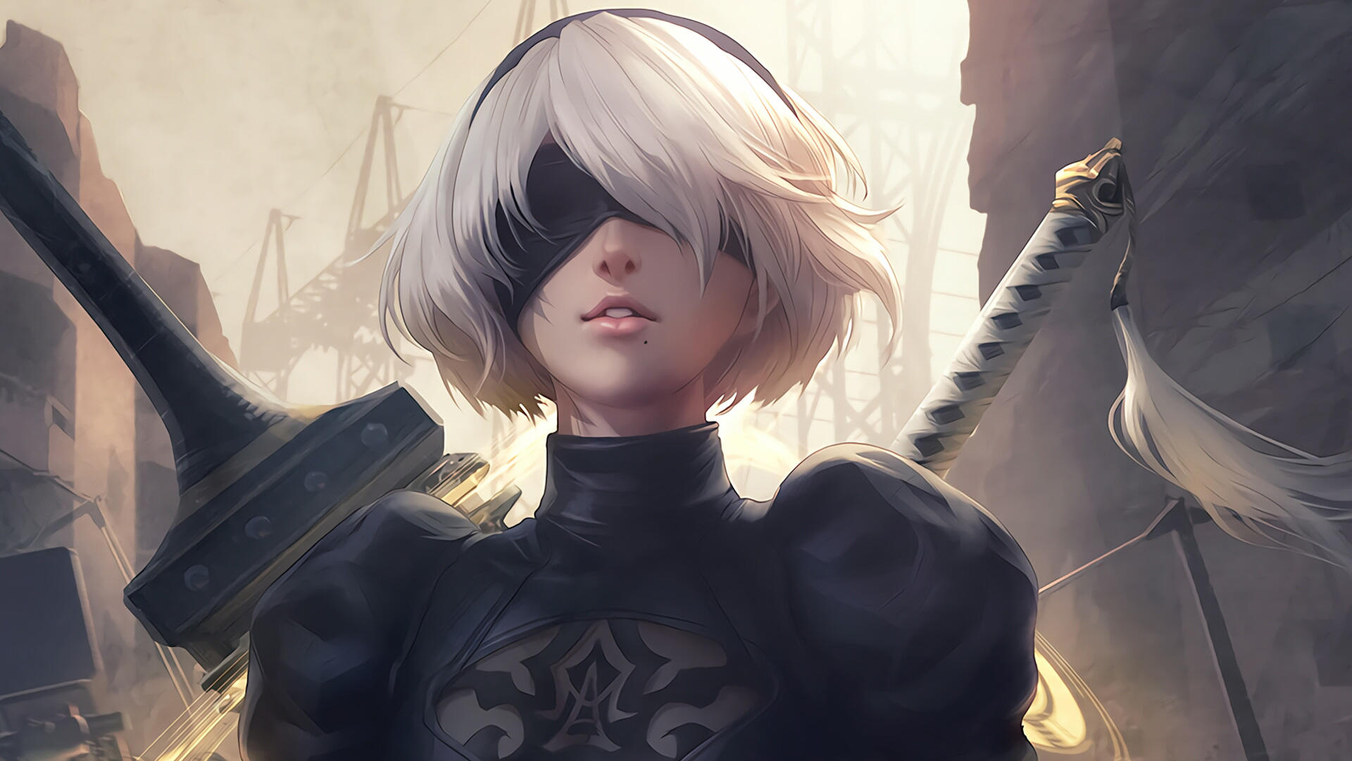 Hd wallpaper nier automata - Full Hd Hdtv Fhd 1080p 1920x1080