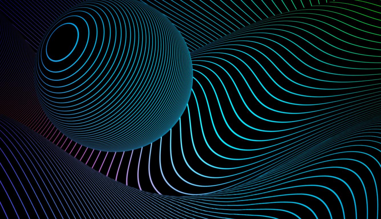 1336x768 3 Dimensional Sphere 4k Hd Laptop Wallpaper Hd 3d