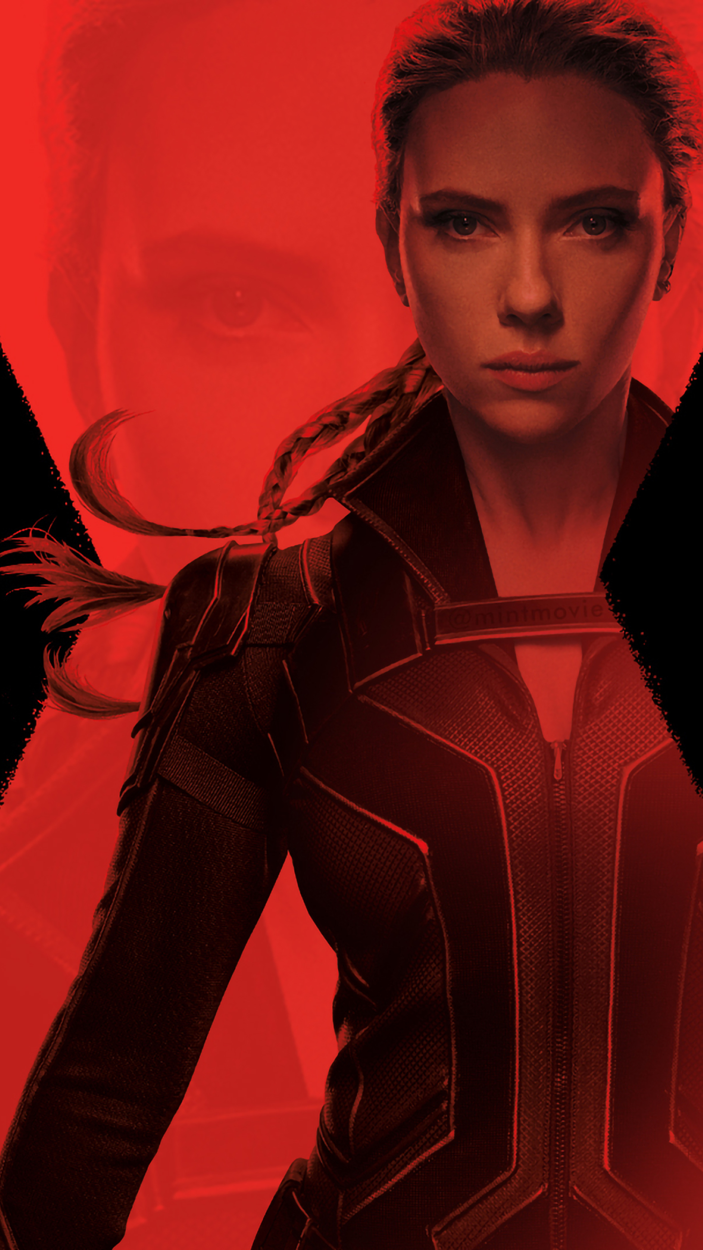 1440x2560 4K Black Widow Movie Samsung Galaxy S6,S7,Google ...
