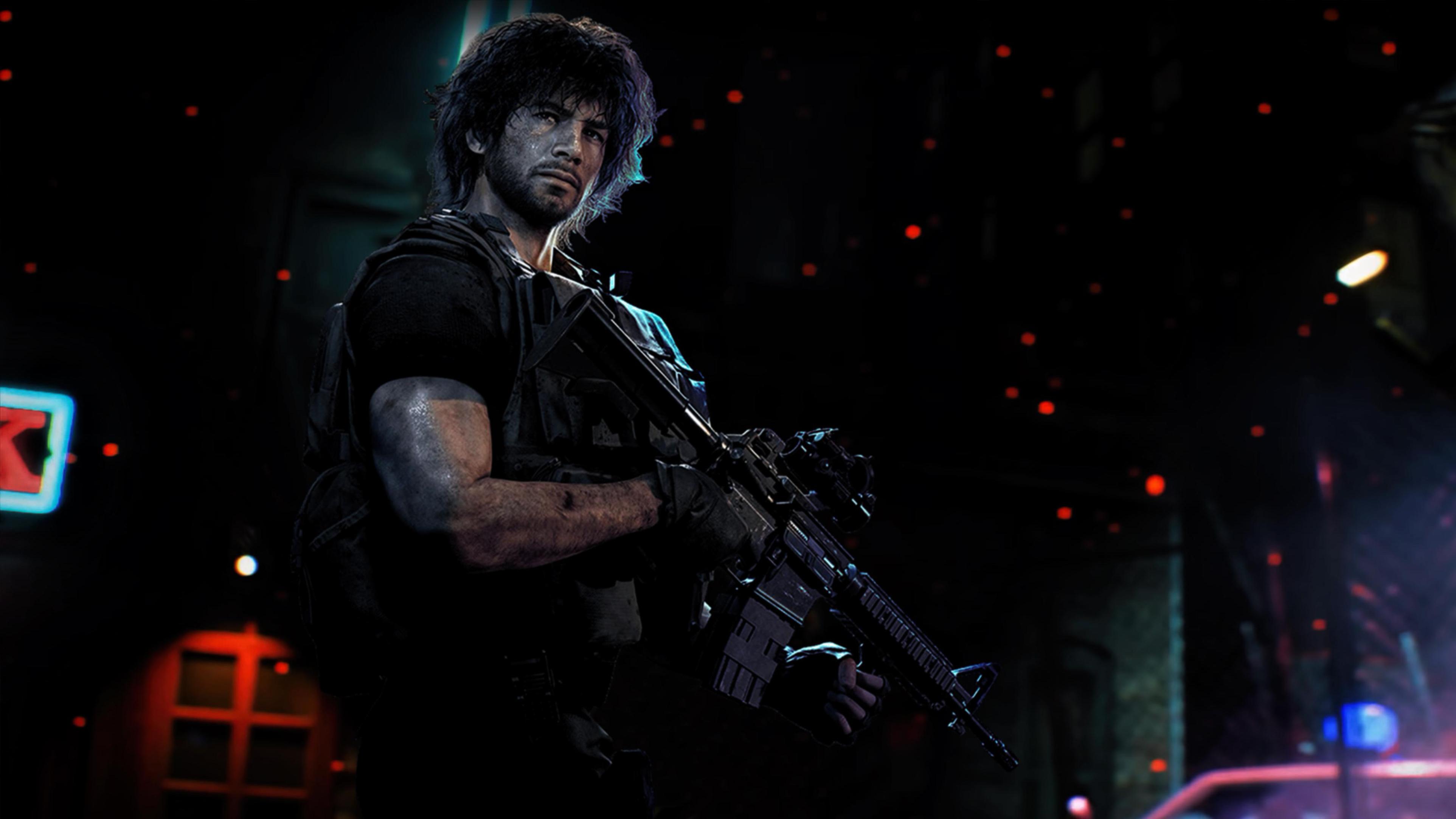 4k Carlos Oliveira Resident Evil 3 Wallpaper Hd Games 4k