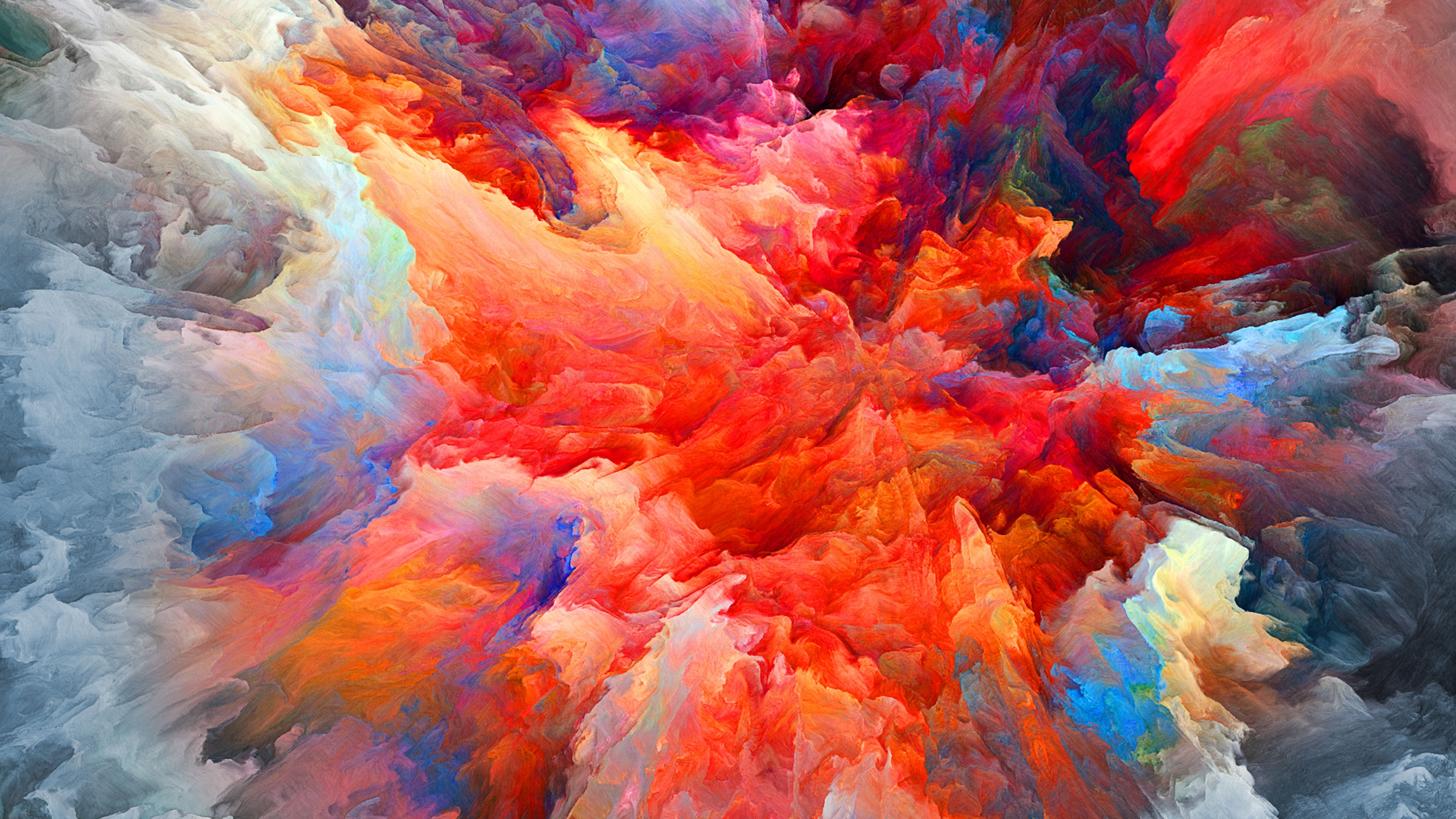 4k colorful blast of smoke wallpaper hd artist 4k wallpapers images photos and background - 4k colorful wallpaper ...