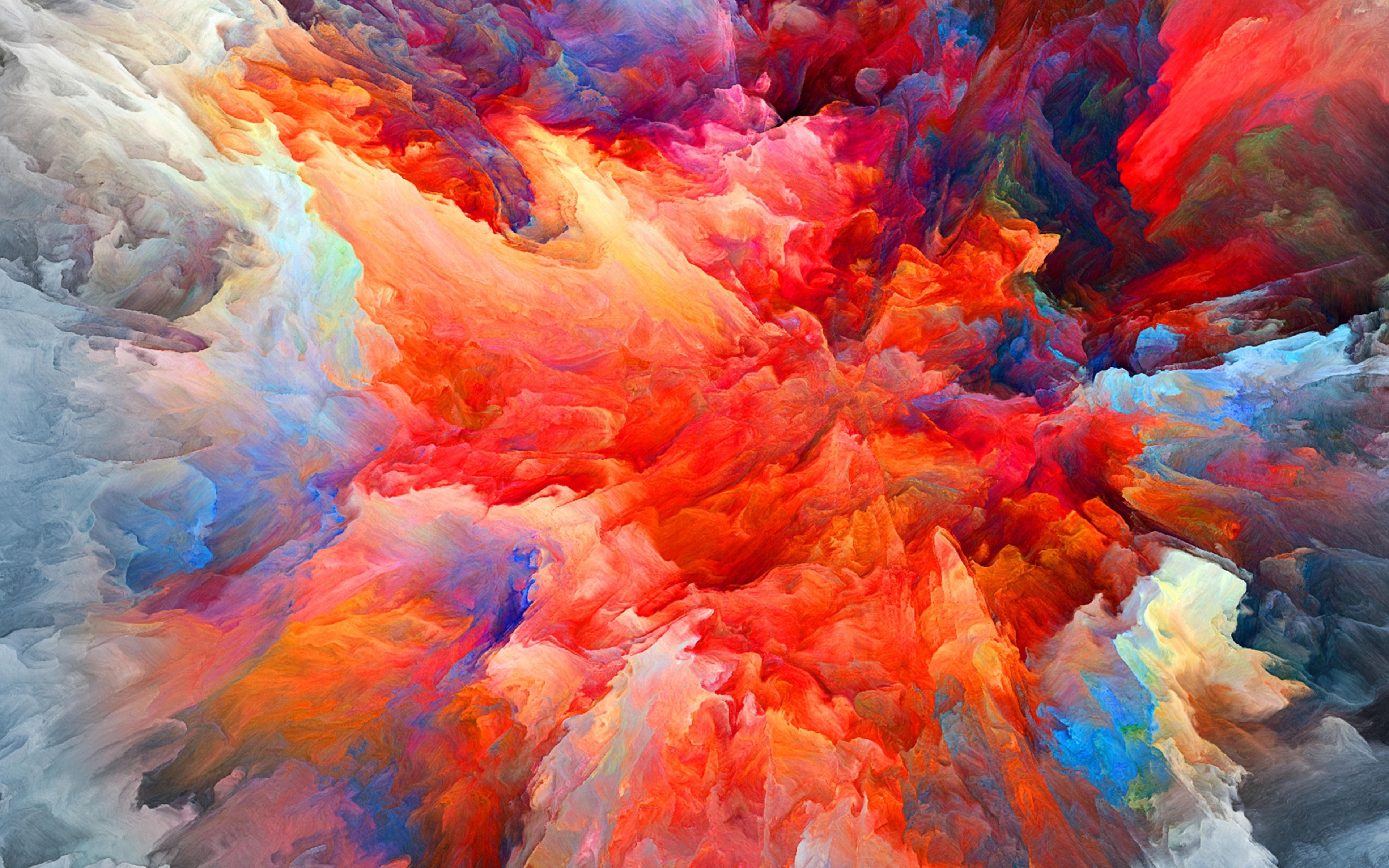 3840x2400 4k Colorful Blast Of Smoke 4k 3840x2400 Resolution