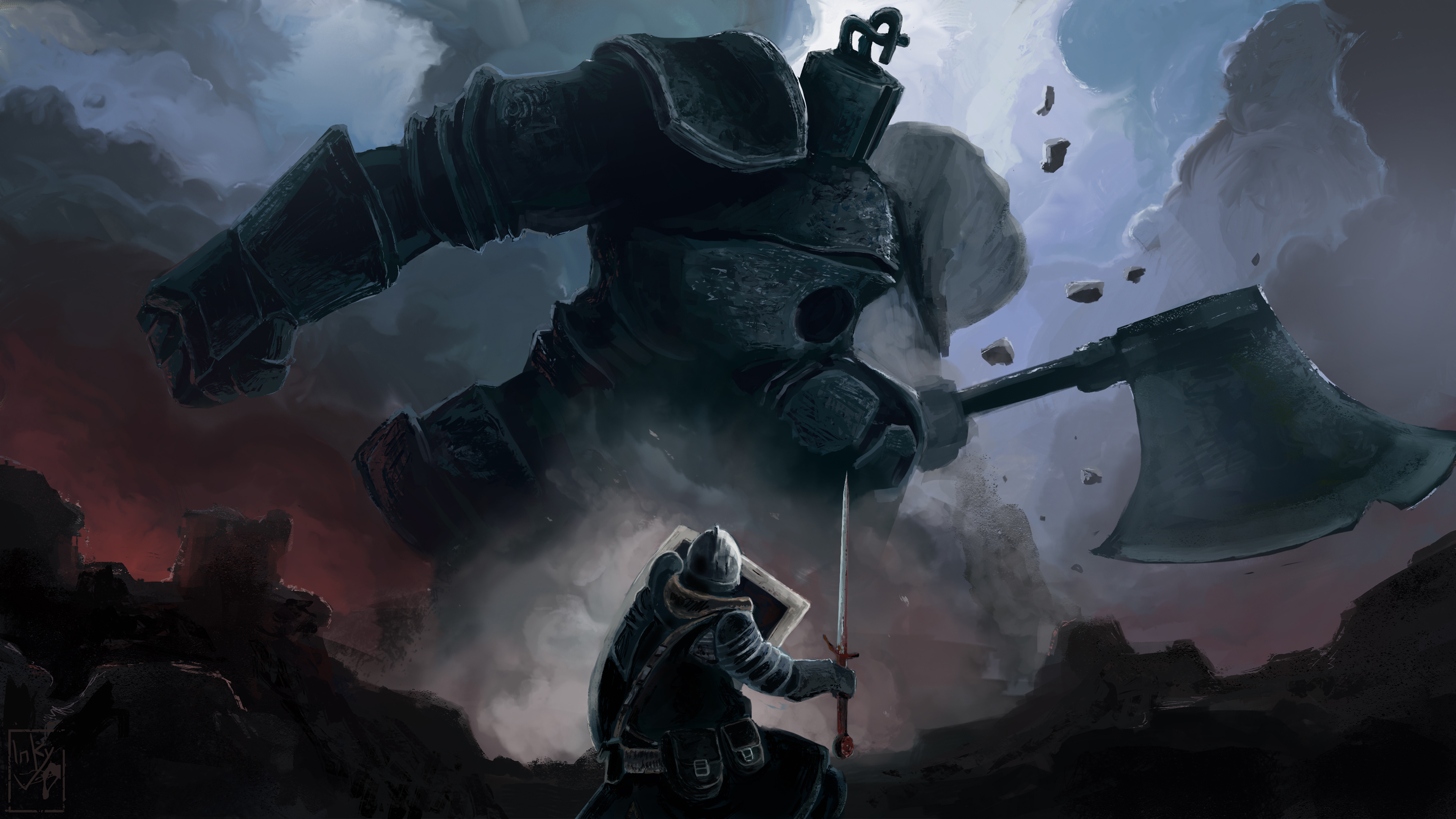 1536x2048 4k Dark Souls Iron Golem 1536x2048 Resolution Wallpaper Hd Games 4k Wallpapers Images Photos And Background Wallpapers Den