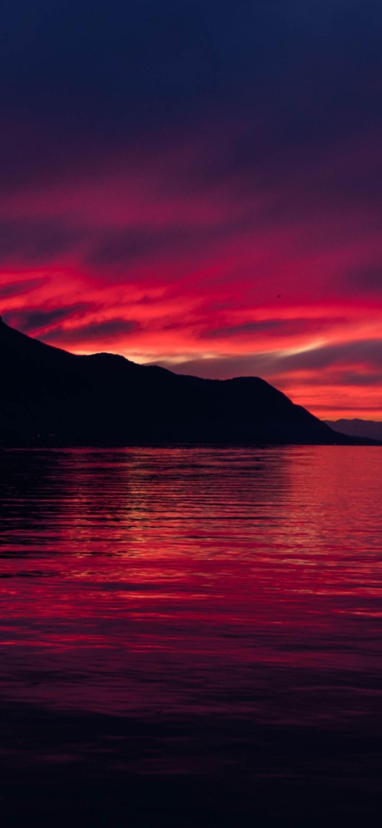 1242x2688 4K Dark Sunset Iphone XS MAX Wallpaper, HD ...