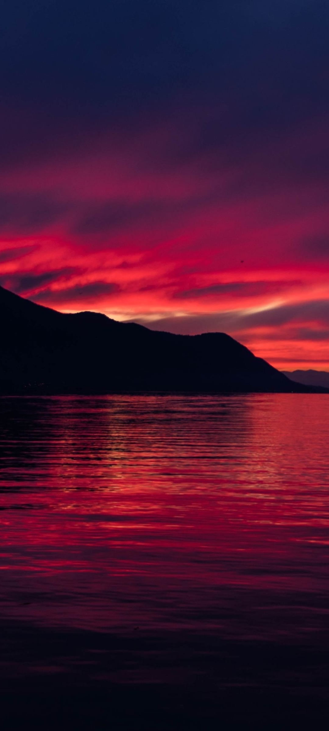 1080x2400 4K Dark Sunset 1080x2400 Resolution Wallpaper ...