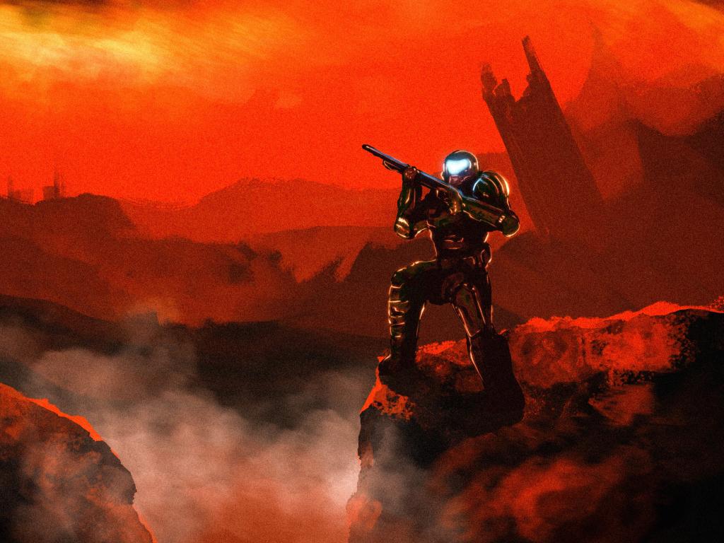 1024x768 4k Doom Doom Slayer 1024x768 Resolution Wallpaper ...