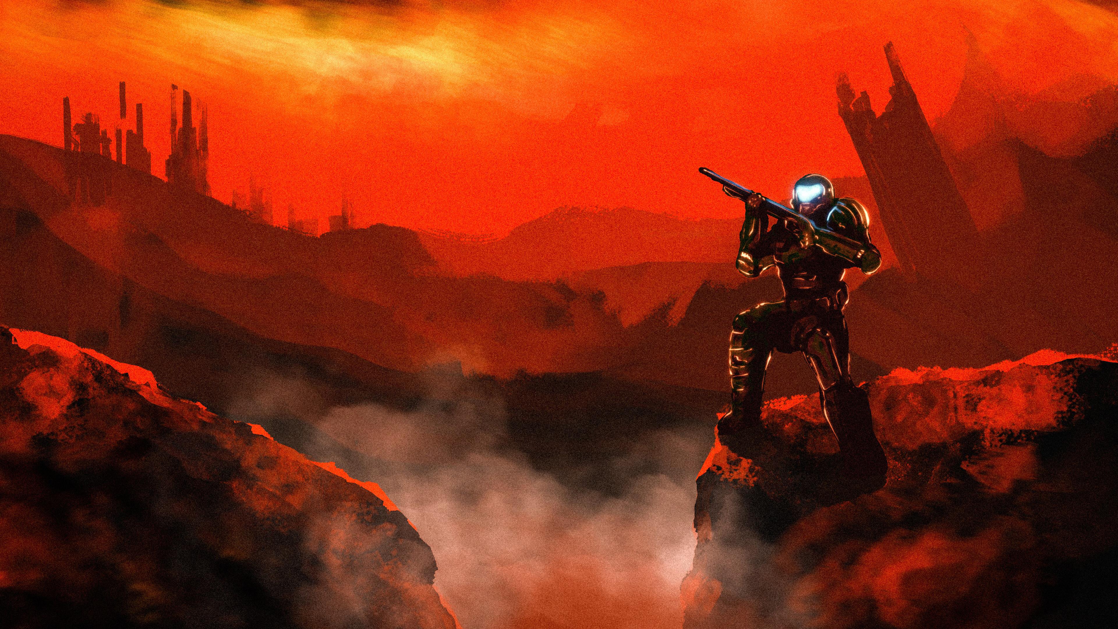 4k Doom Doom Slayer Wallpaper, HD Games 4K Wallpapers ...