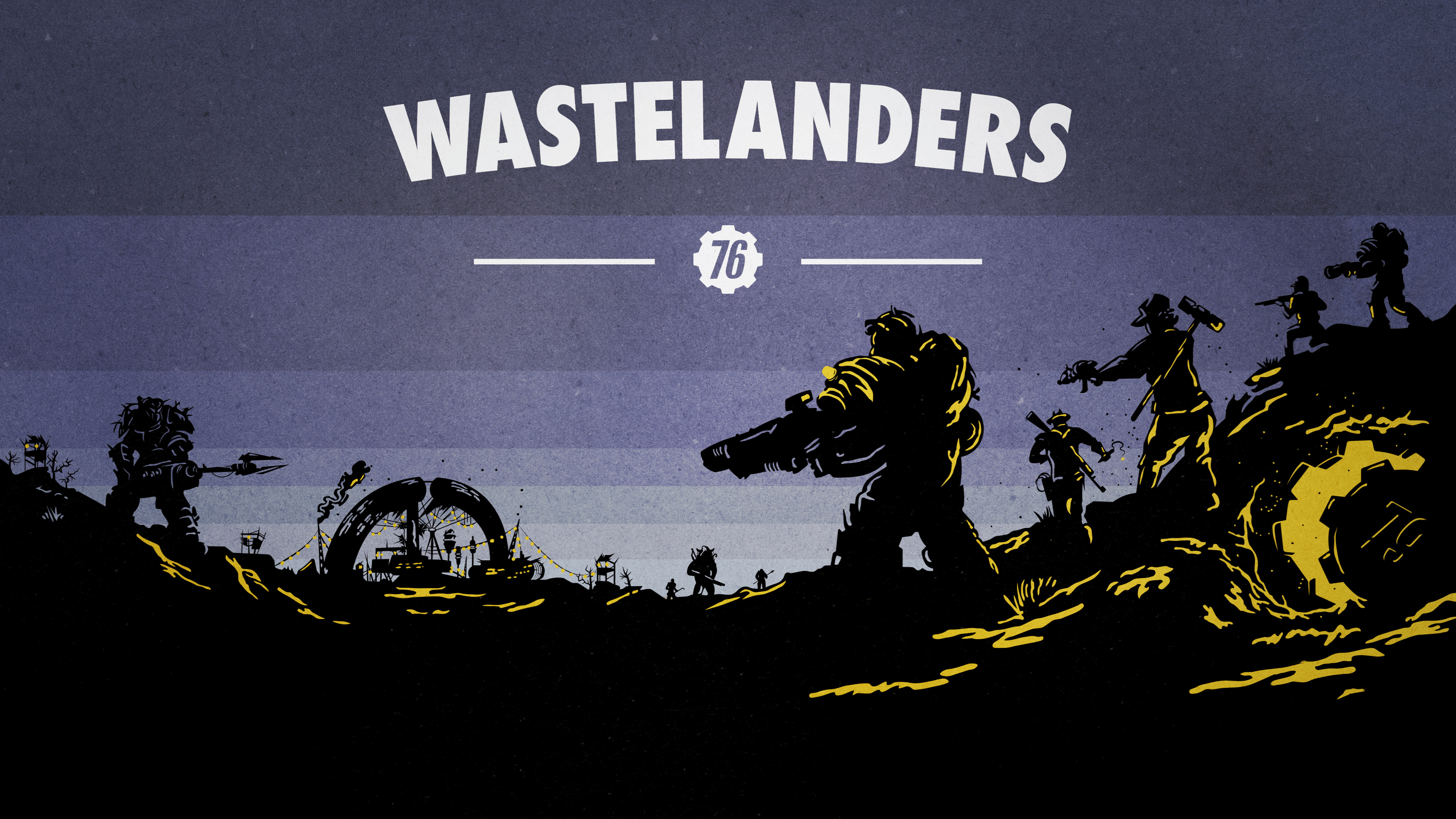 3840x2160 4k Fallout 76 Wastelanders 4k Wallpaper Hd Games 4k Wallpapers Images Photos And Background