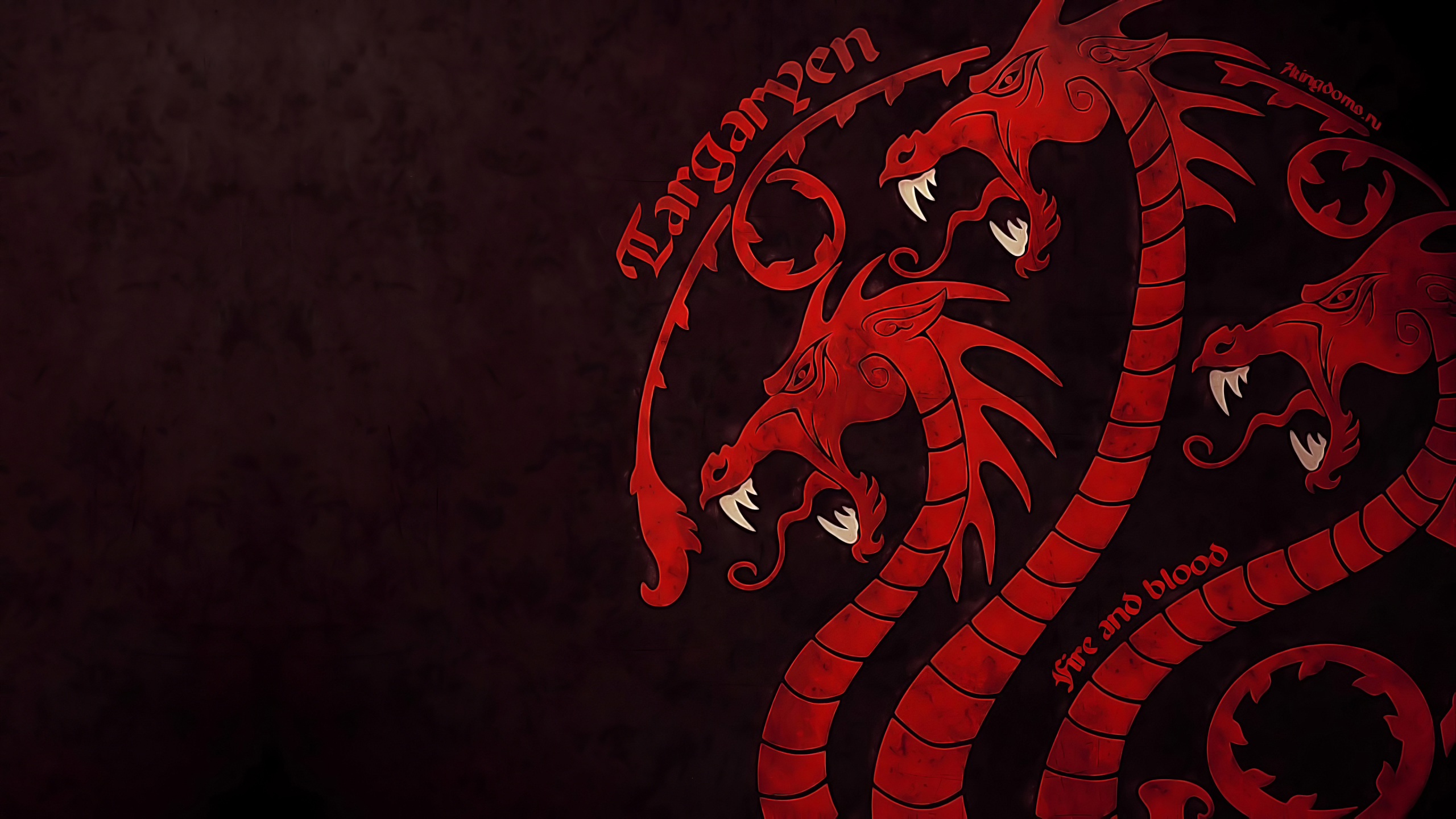 2560x1440 4k Game Of Thrones House Targaryen 1440p Resolution Wallpaper Hd Tv Series 4k Wallpapers Images Photos And Background