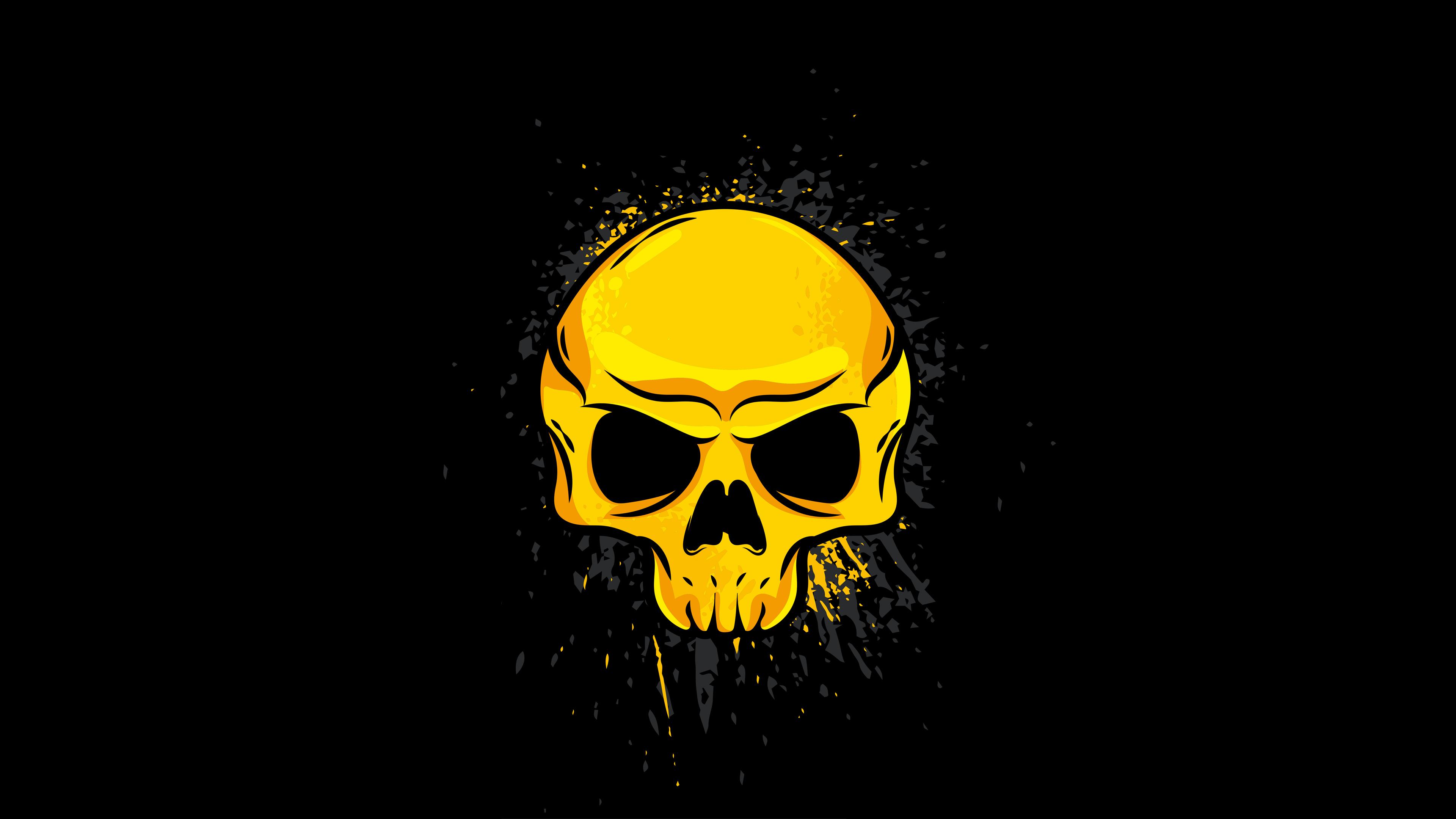 4k Gold Skull Wallpaper Hd Artist 4k Wallpapers Images