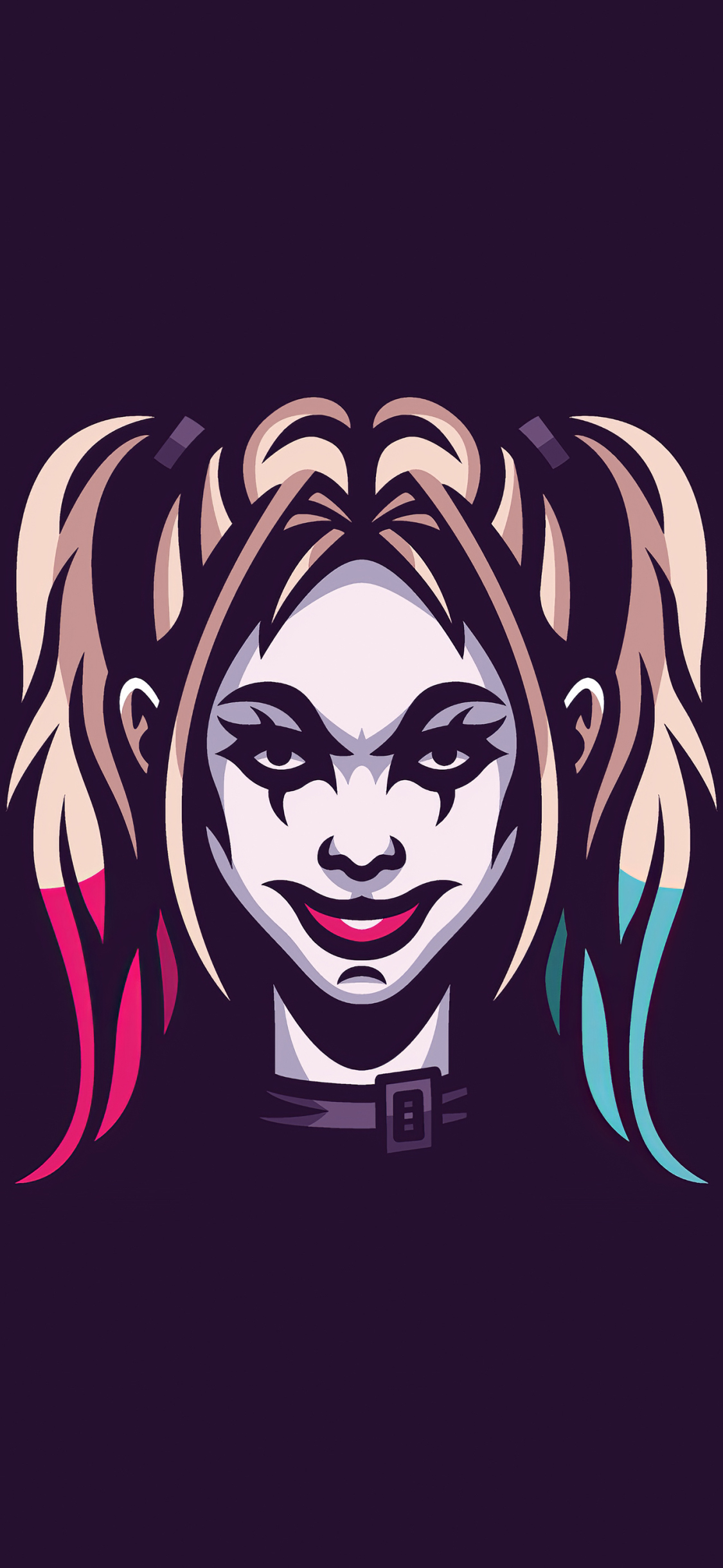 1125x2436 4k Harley Quinn Minimal Art Iphone XS,Iphone 10 ...
