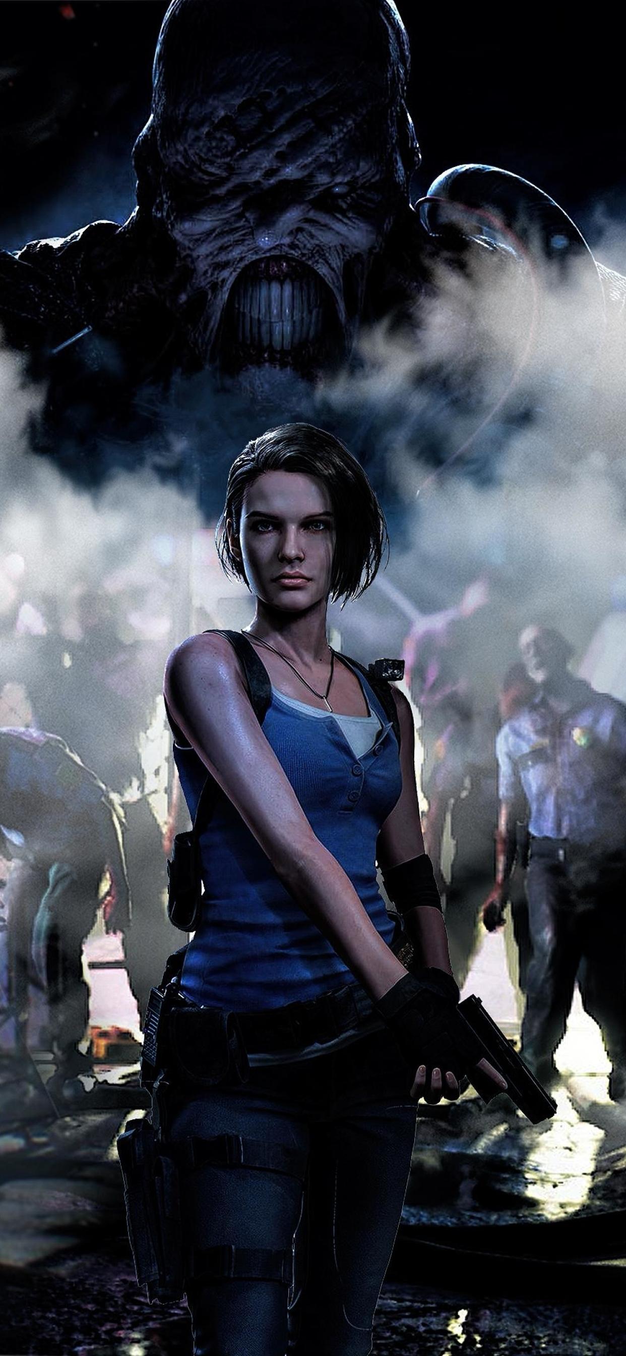 1242x2688 4k Jill Valentine Resident Evil 3 Iphone Xs Max