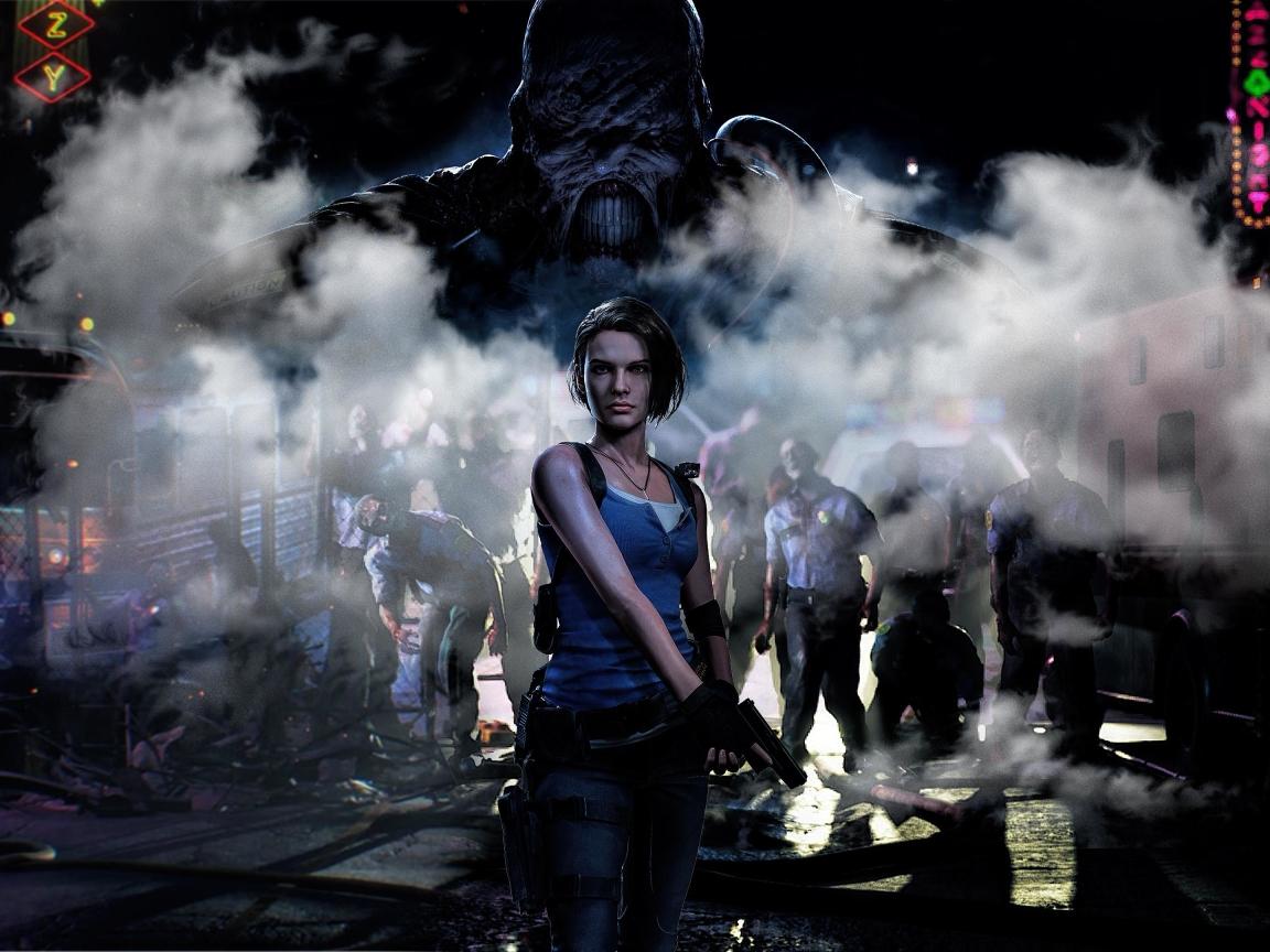 1152x864 4K Jill Valentine Resident Evil 3 1152x864 ...