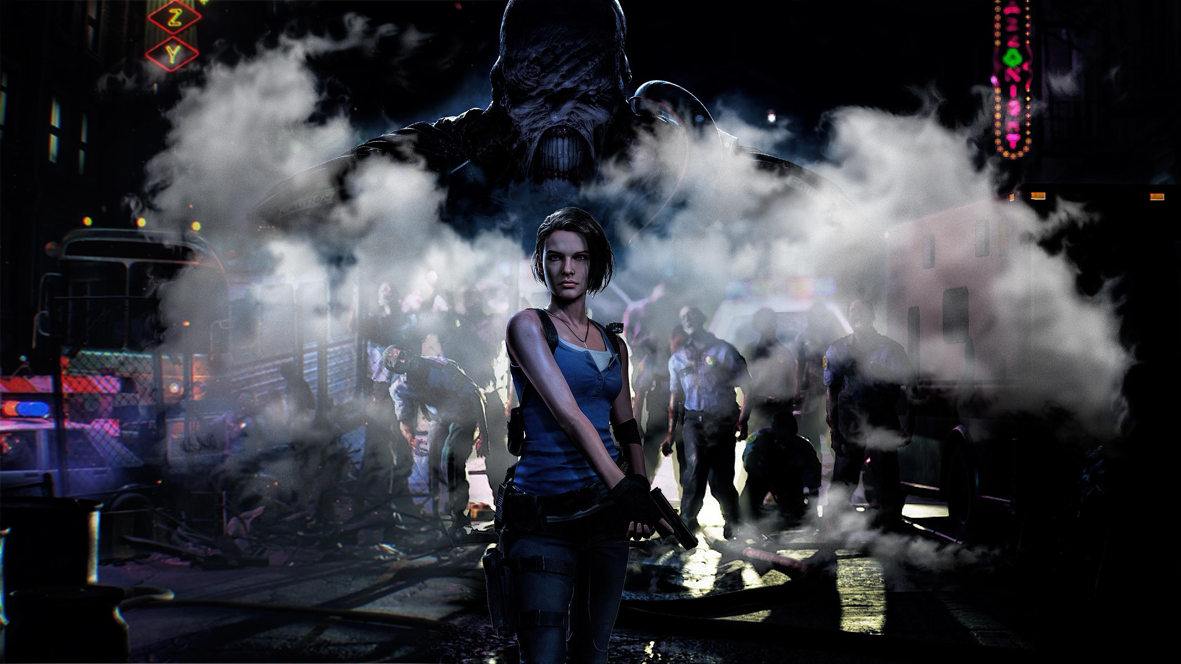 4k Jill Valentine Resident Evil 3 Wallpaper Hd Games 4k