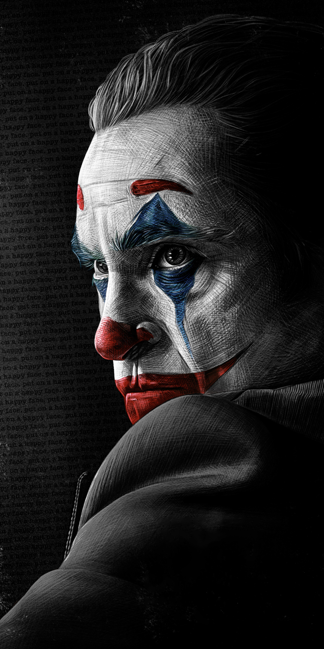 1080x2160 4k Joaquin Phoenix As Joker One Plus 5t Honor 7x Honor View 10 Lg Q6 Wallpaper Hd Artist 4k Wallpapers Images Photos And Background