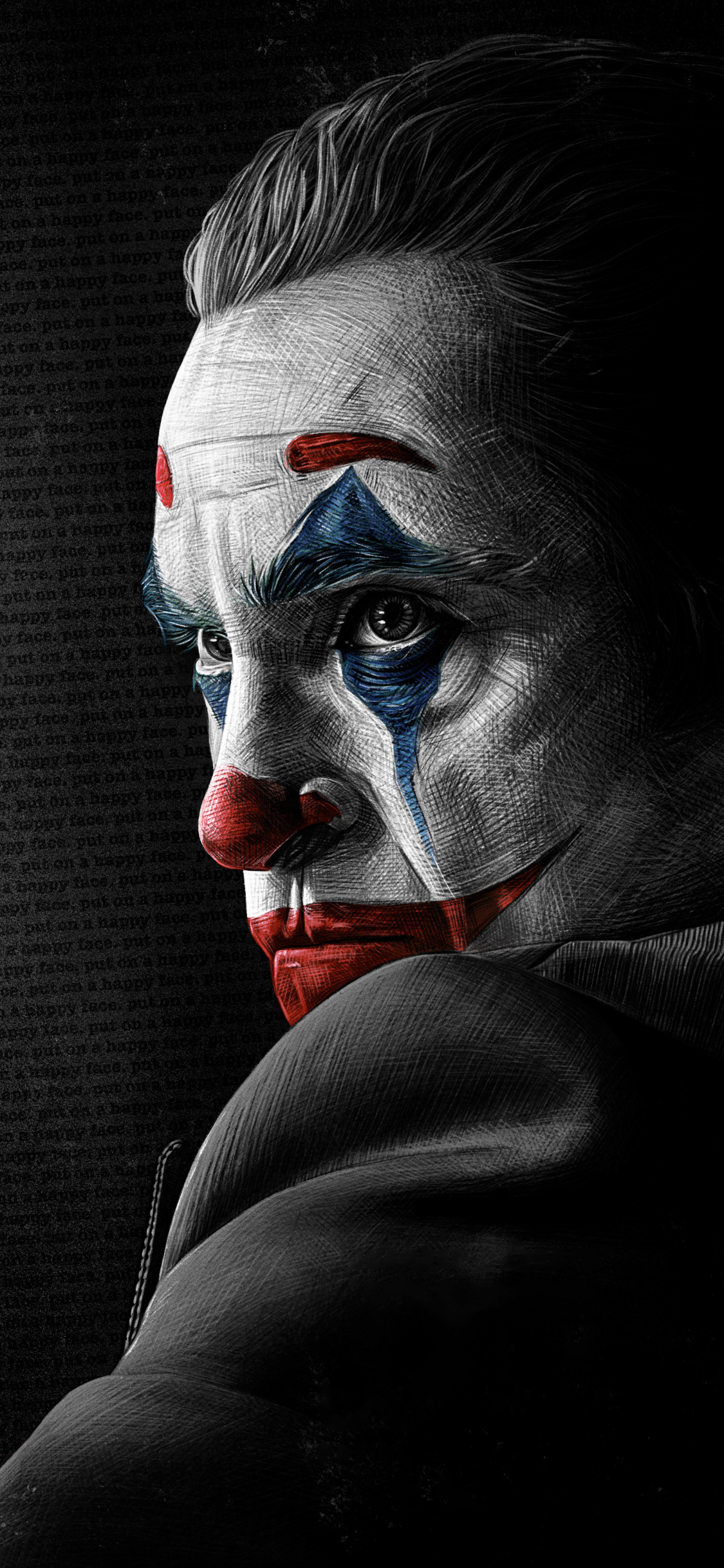 1125x2436 4k Joaquin Phoenix As Joker Iphone Xs Iphone 10