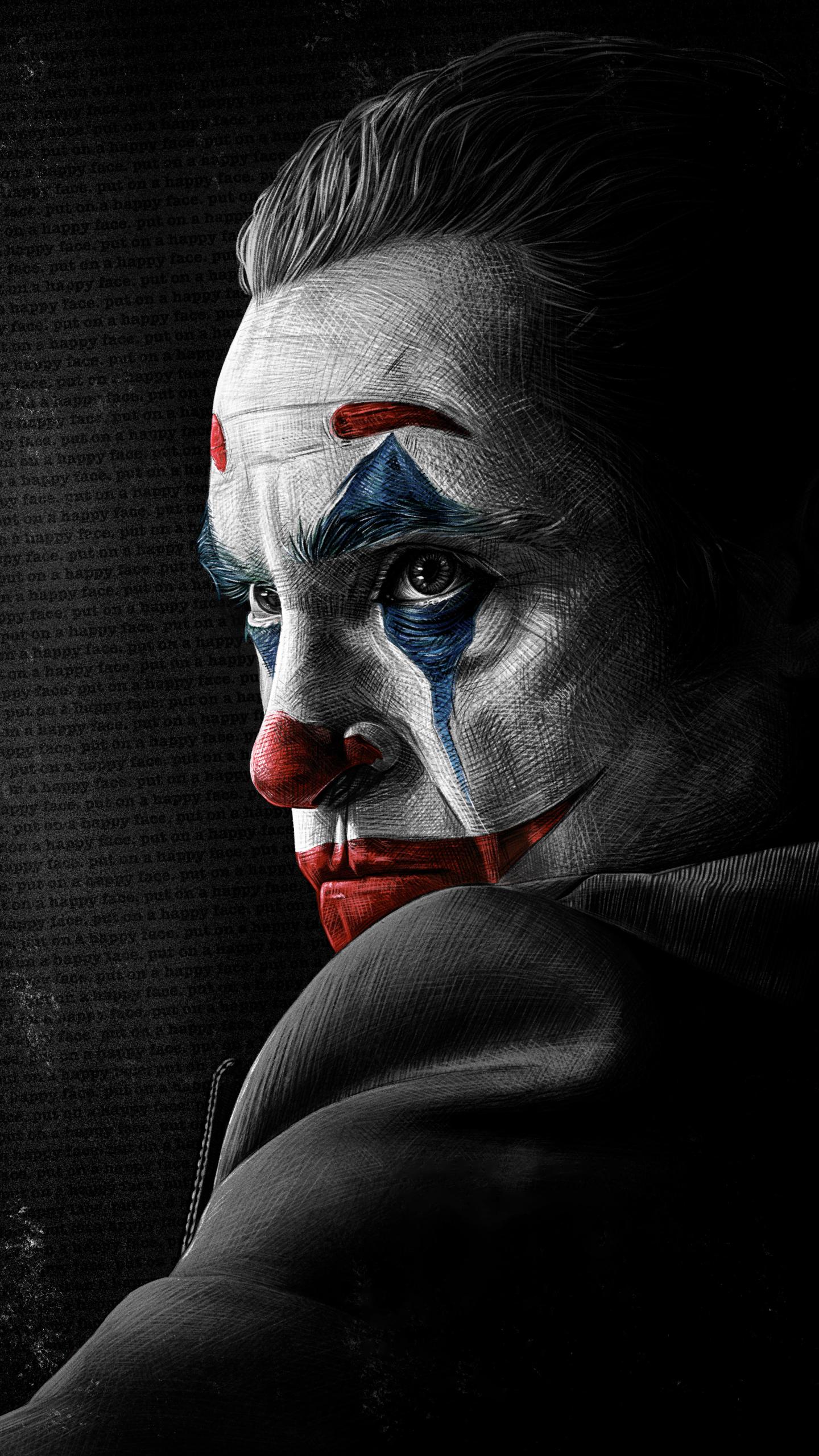 1440x2560 4k Joaquin Phoenix As Joker Samsung Galaxy S6,S7 ...