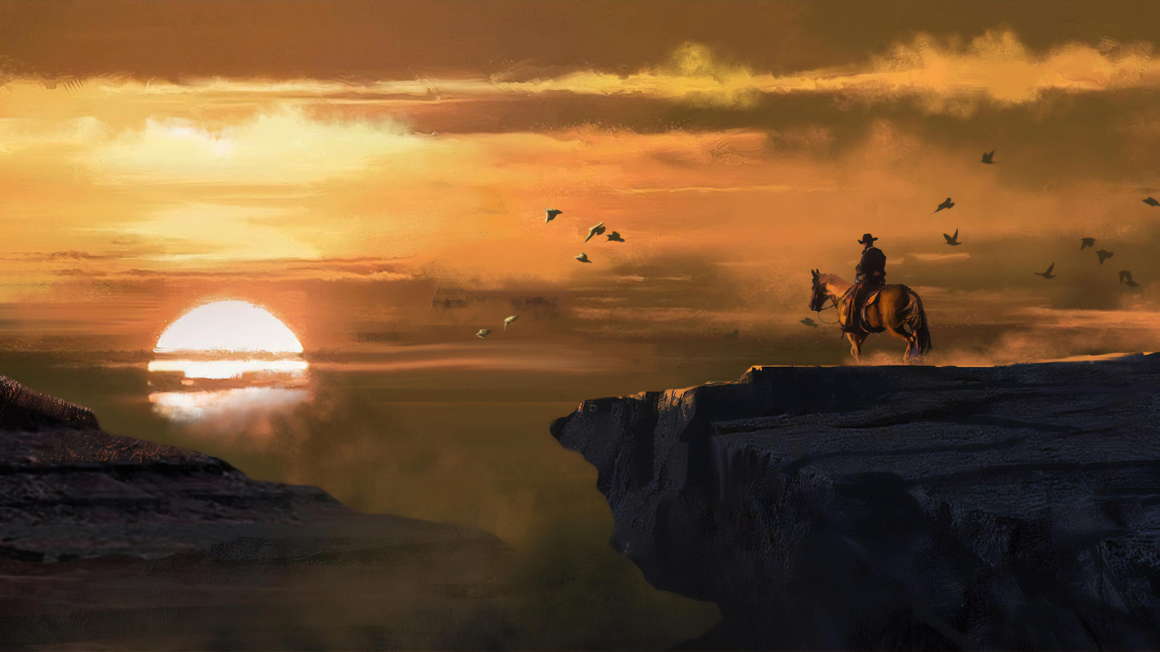 4k Landscape From Red Dead Redemption Wallpaper Hd Nature 4k