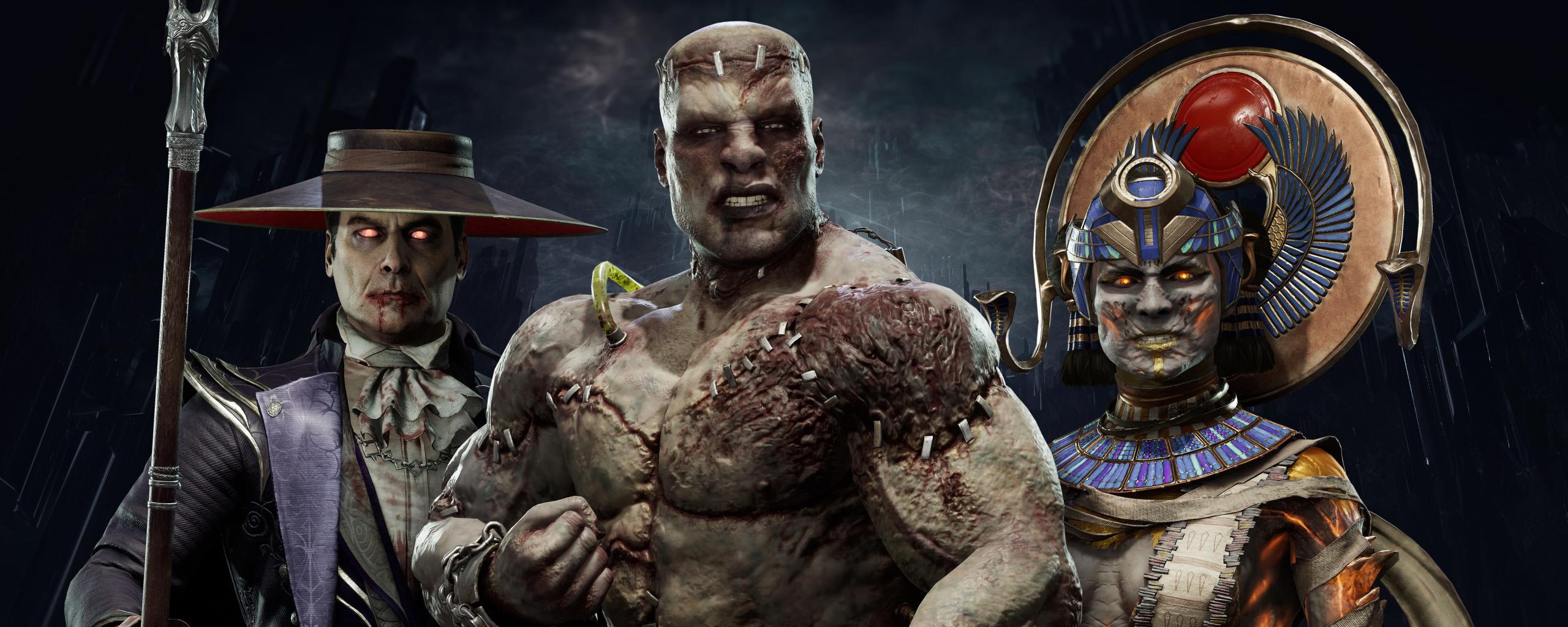 2560x1024 4k Mortal Kombat 11 2560x1024 Resolution Wallpaper