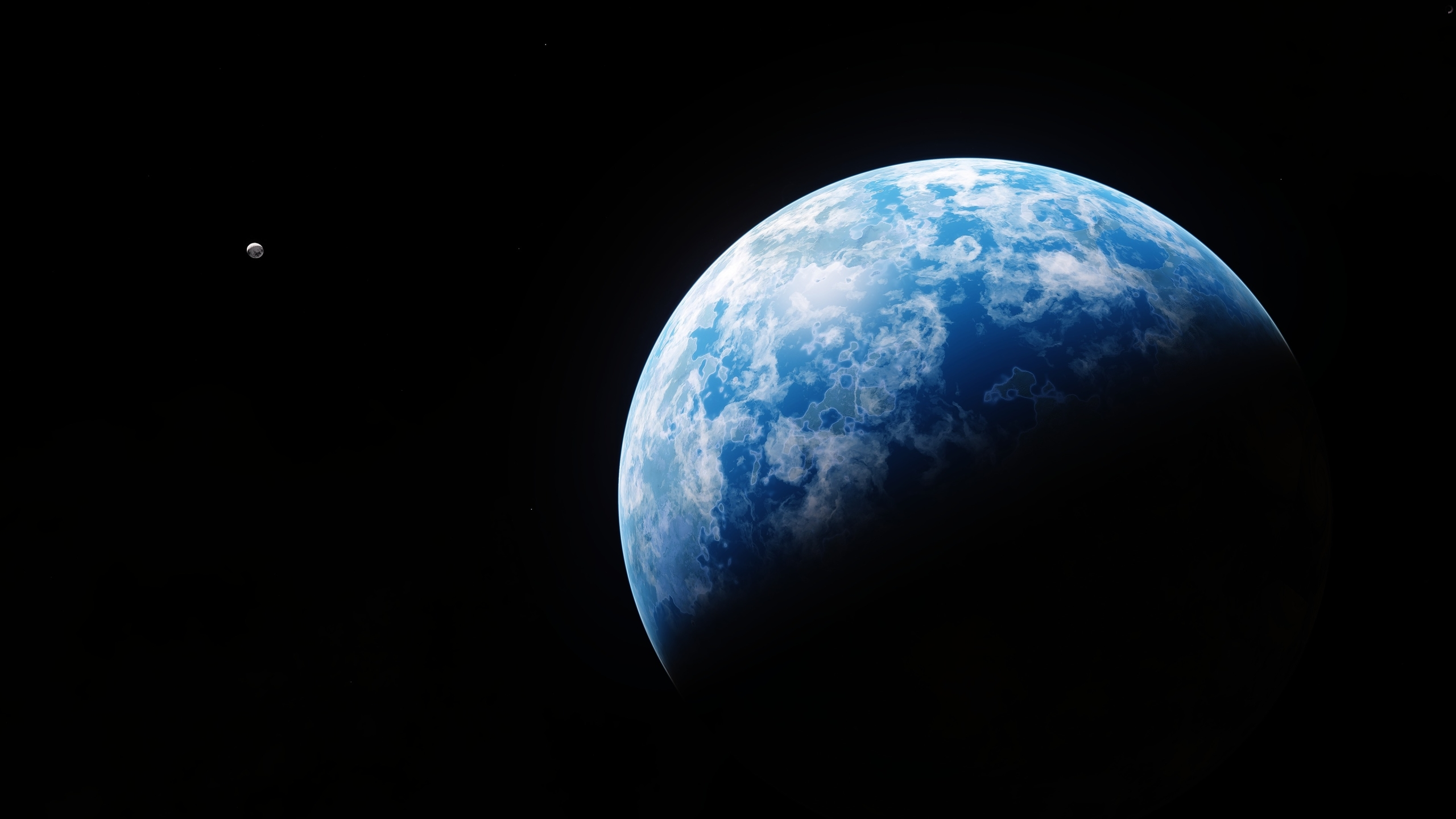 2560x1440 4k Planet Earth 1440p Resolution Wallpaper Hd Space 4k Wallpapers Images Photos And Background
