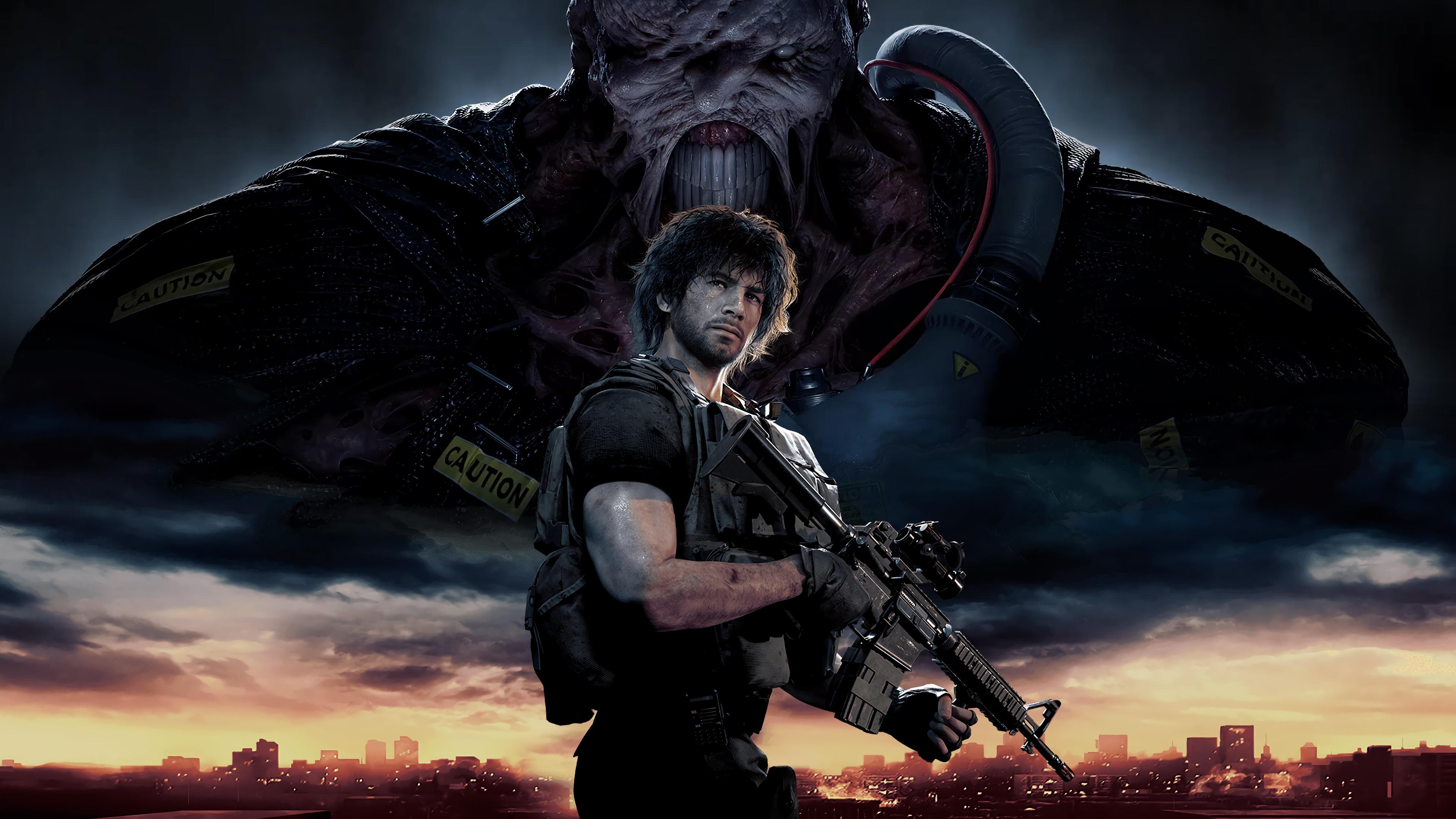 4k Resident Evil 3 Remake Wallpaper Hd Games 4k Wallpapers
