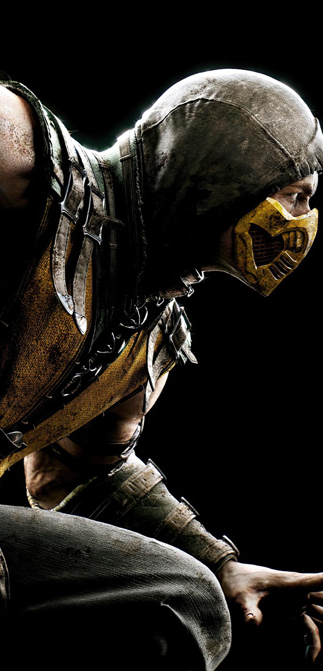 1080x2240 4K Scorpion Mortal Kombat 11 1080x2240 ...