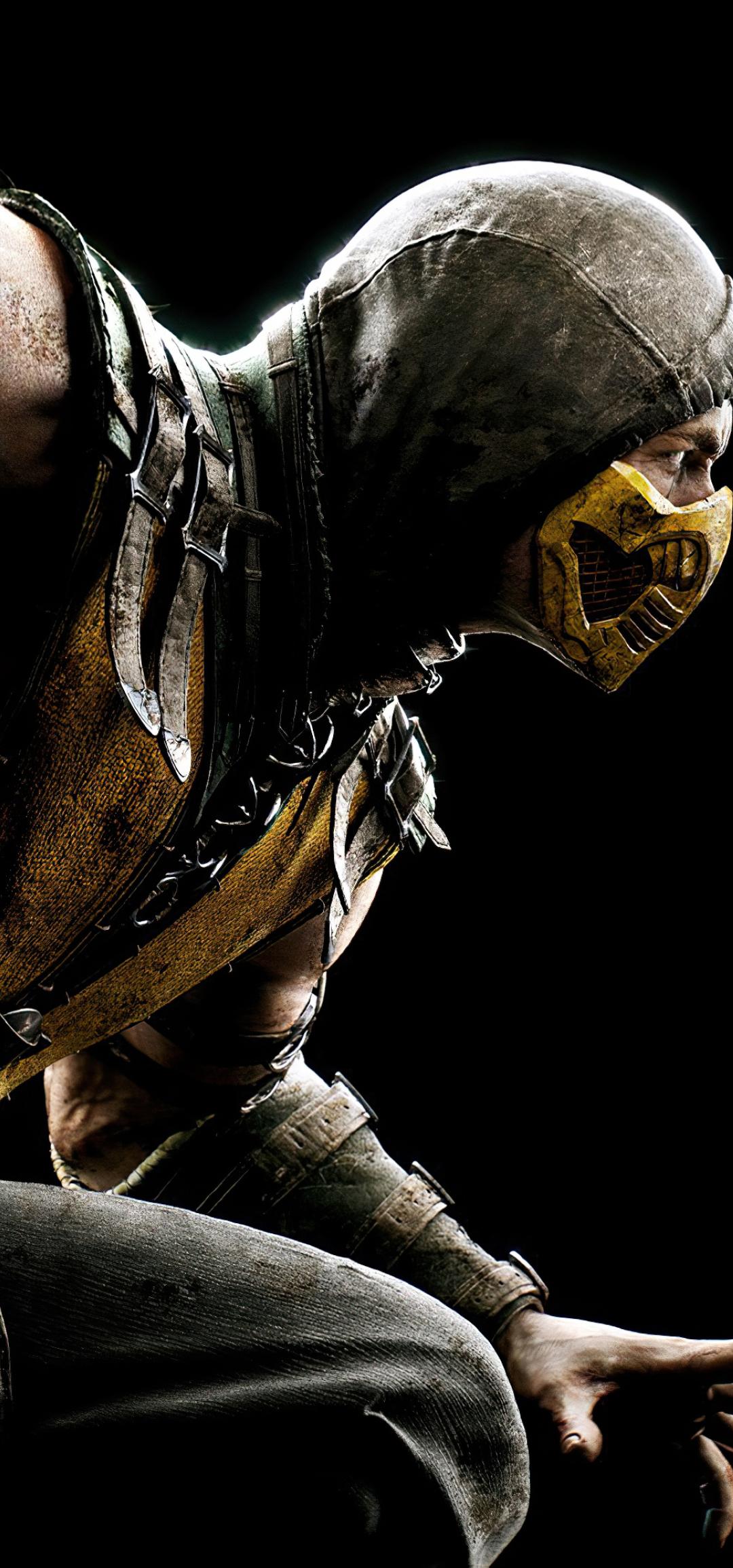 1080x2310 4K Scorpion Mortal Kombat 11 1080x2310 ...