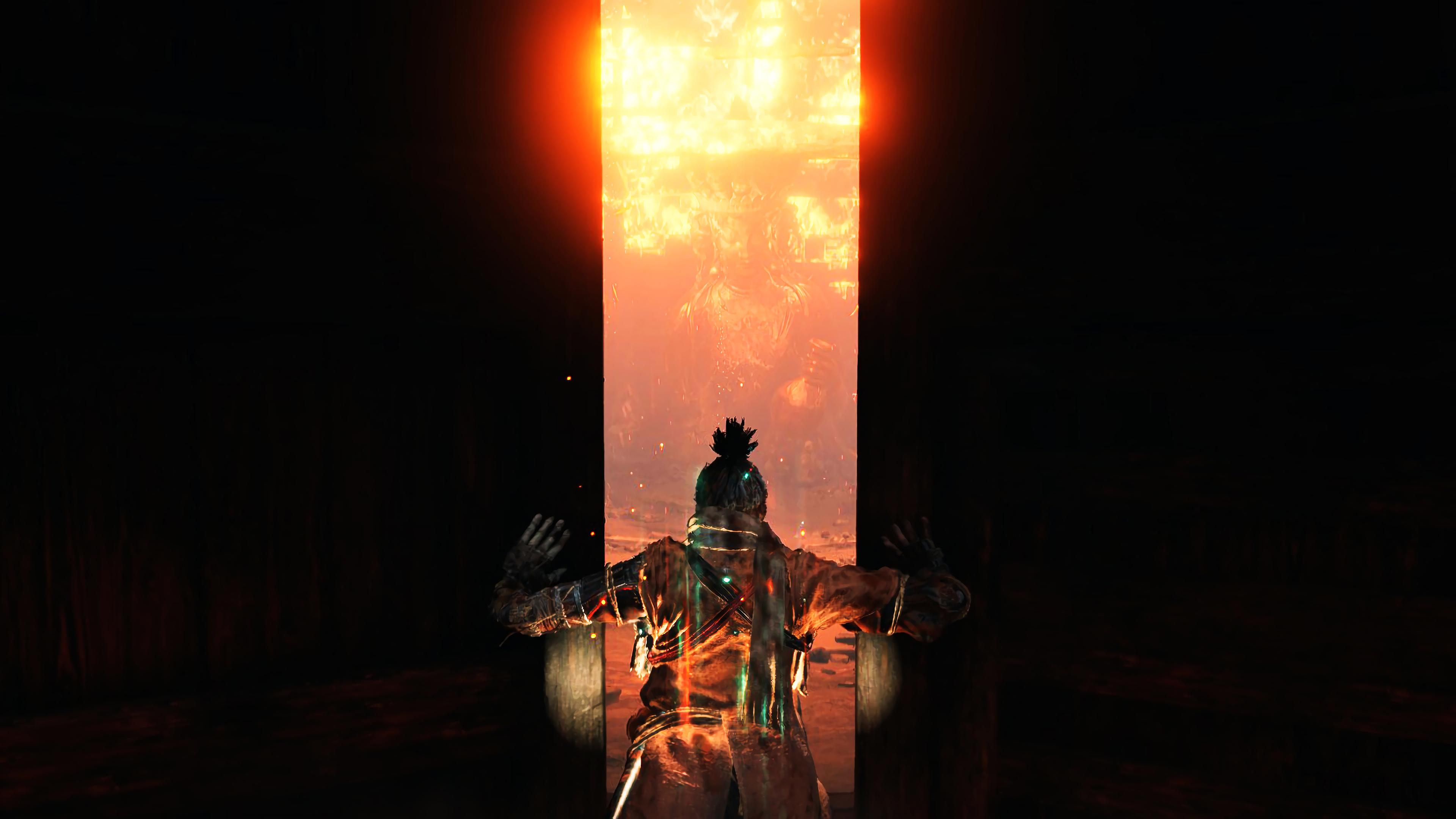 4k Sekiro Shadows Die Twice Door Opening Wallpaper Hd Games 4k