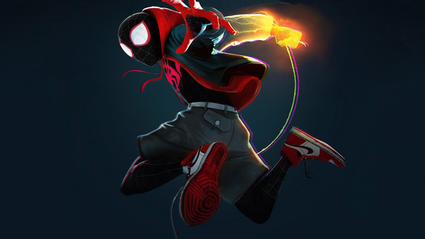 1366x768 4K Spider-Man Miles Morales 2020 1366x768 ...