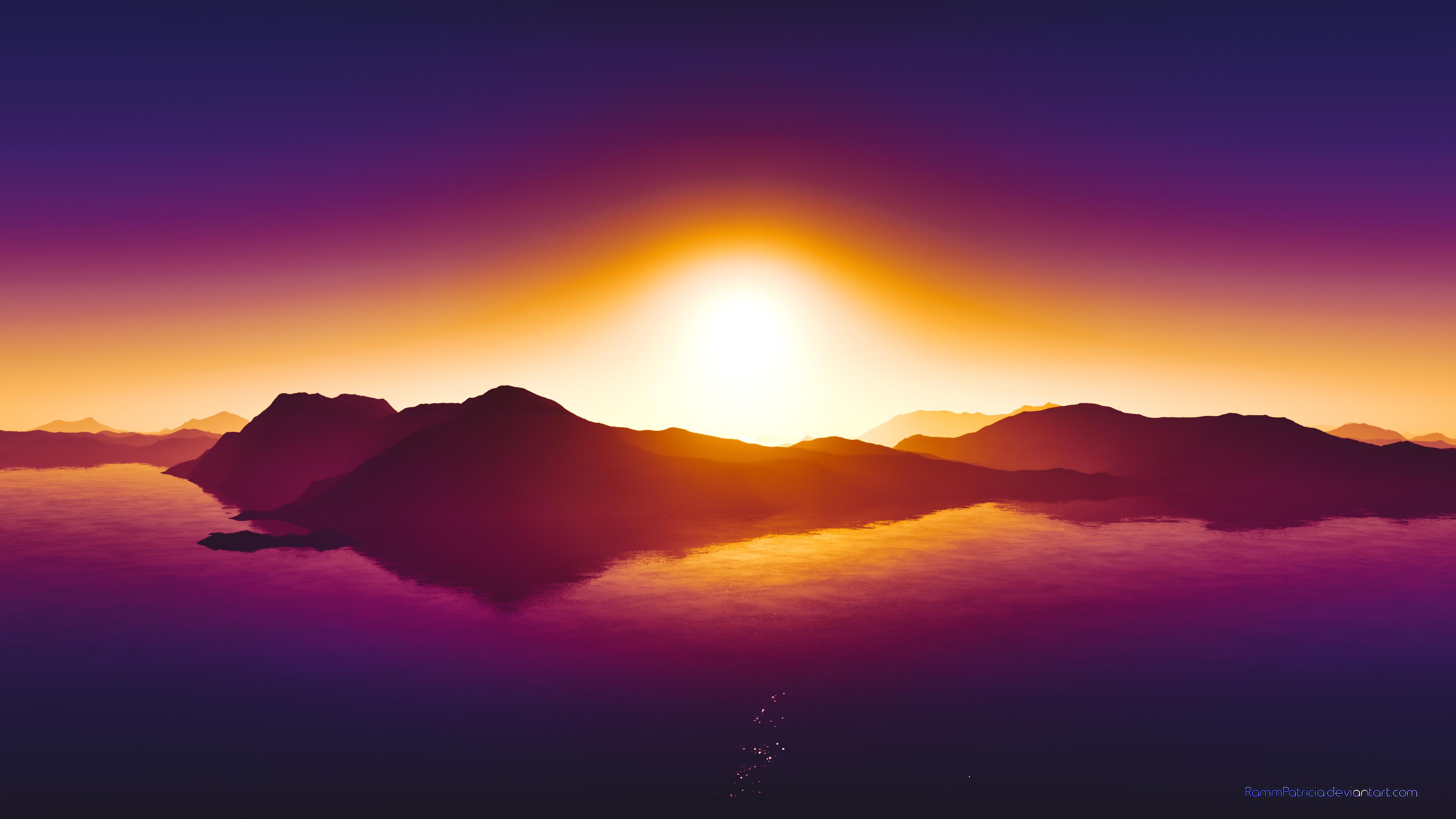3840x2160 4k Summer Sunset 4k Wallpaper Hd Nature 4k