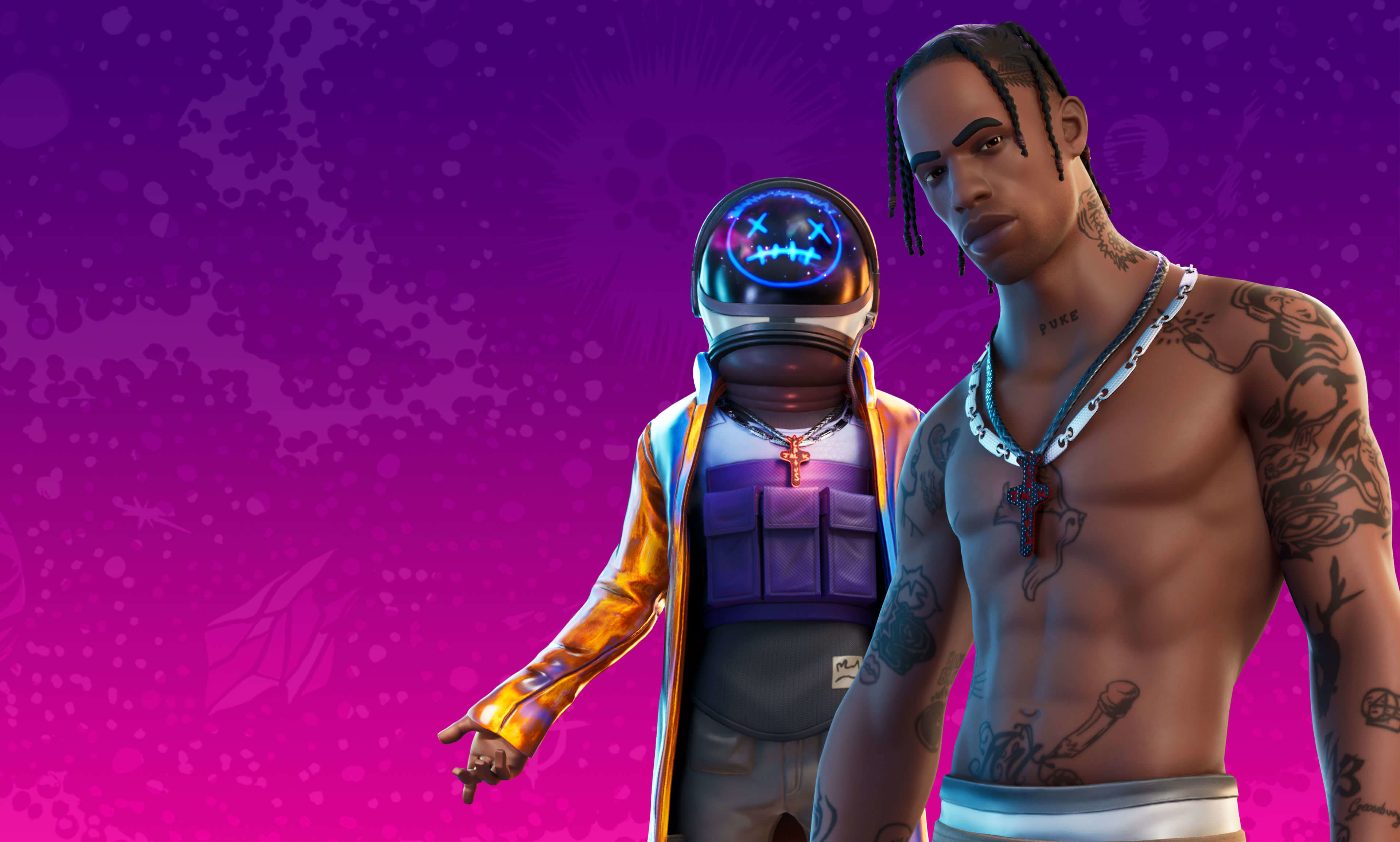 2048x2048 4k Travis Scott Astronomical Fortnite 2 Ipad Air Wallpaper Hd Games 4k Wallpapers Images Photos And Background