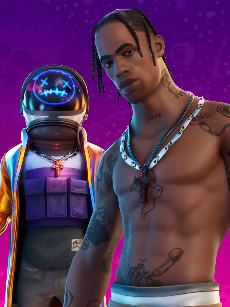 768x1024 4k Travis Scott Astronomical Fortnite 2 768x1024 Resolution Wallpaper Hd Games 4k Wallpapers Images Photos And Background