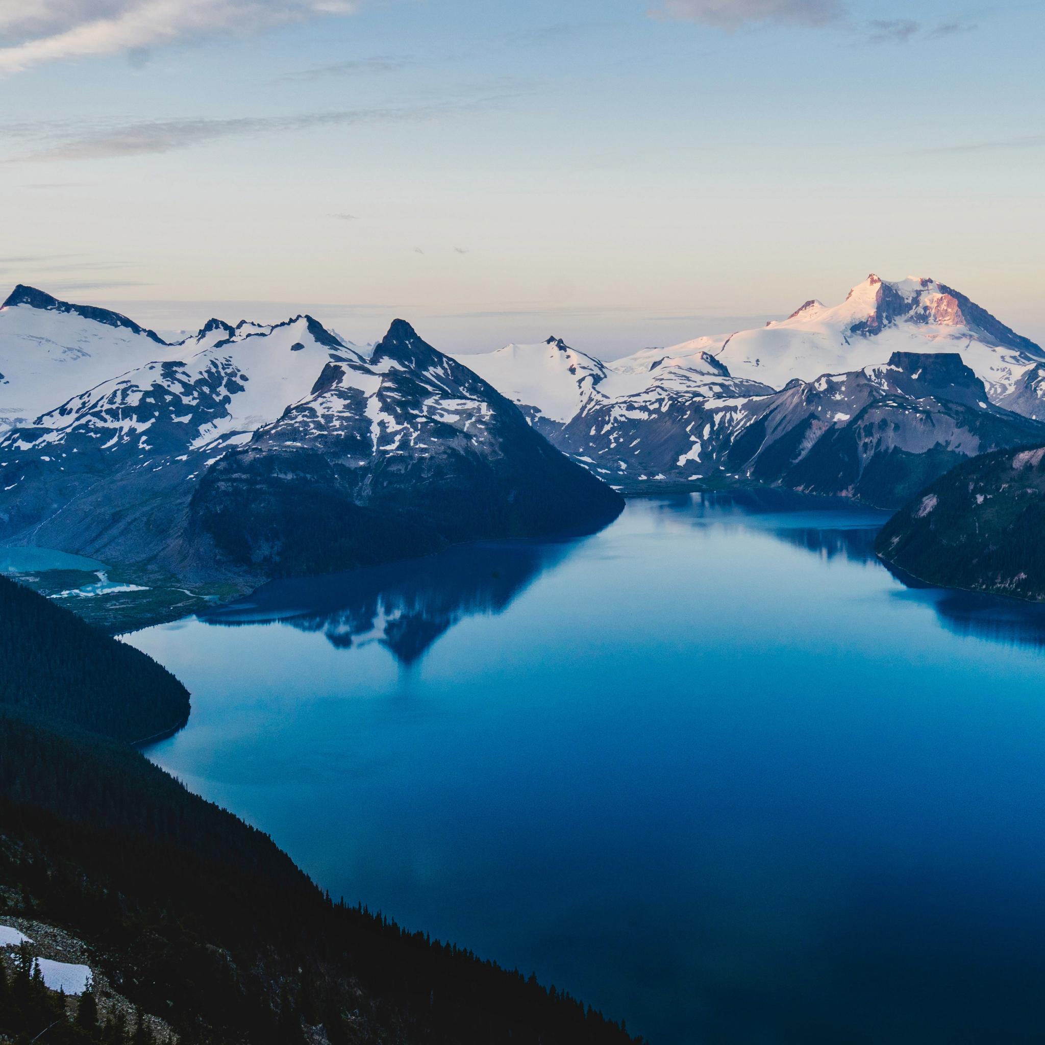 2048x2048 5k Lake Ipad Air Wallpaper, HD Nature 4K ...