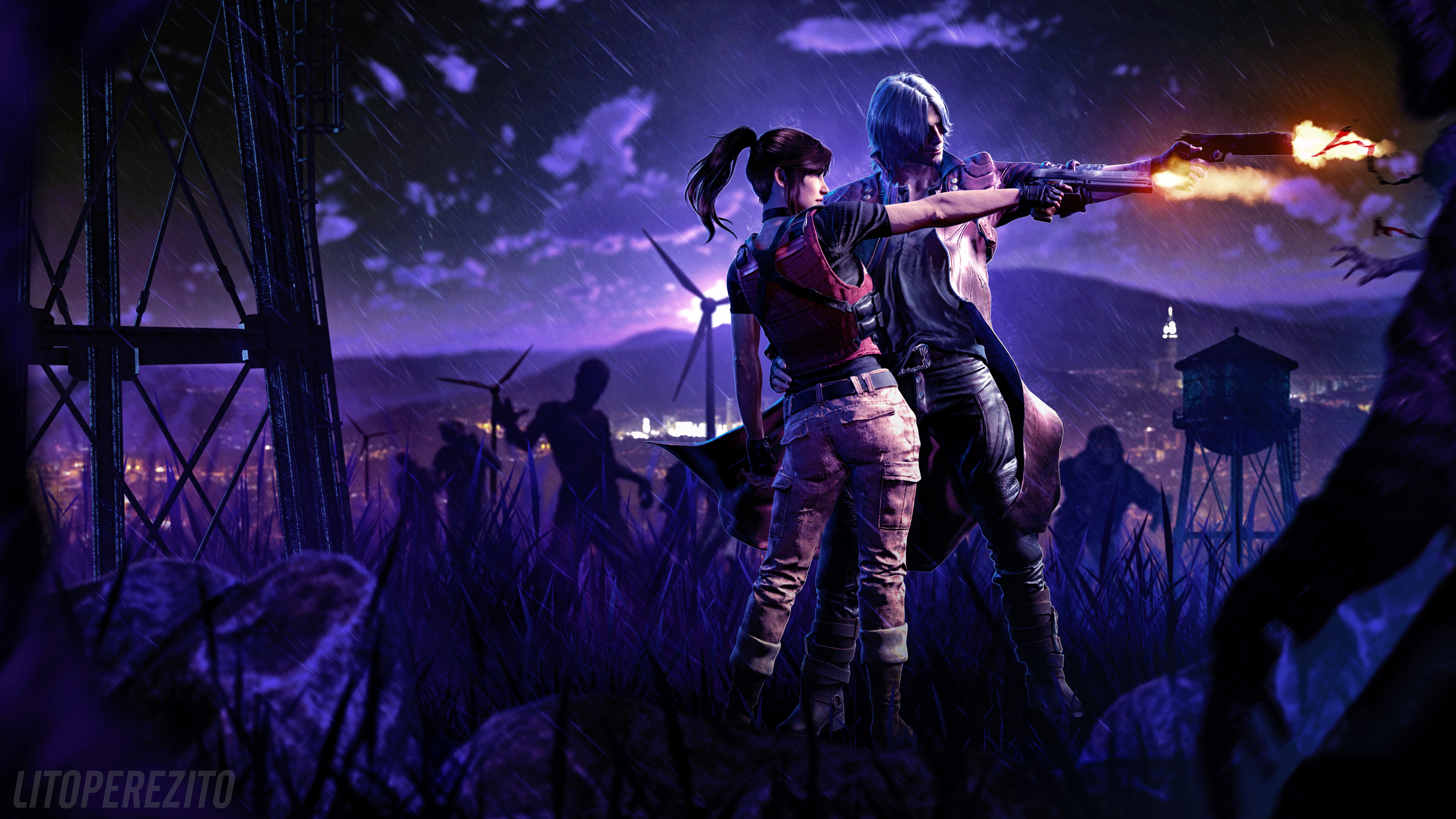 5k Resident Evil Devil May Cry 5 Wallpaper Hd Games 4k Wallpapers
