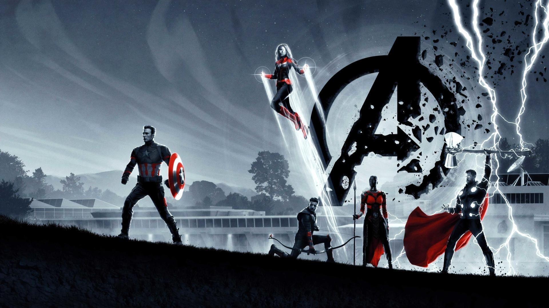 1920x1080 8k Avengers Endgame Poster 1080p Laptop Full Hd