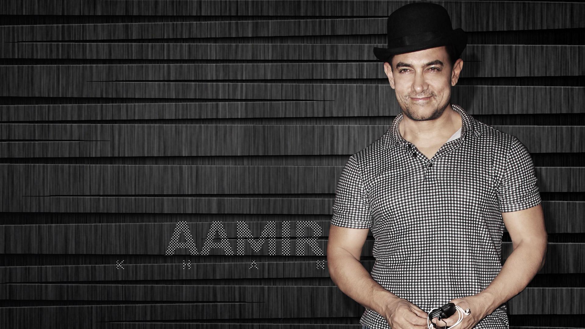 Aamir Khan In Hat, Full HD Wallpaper