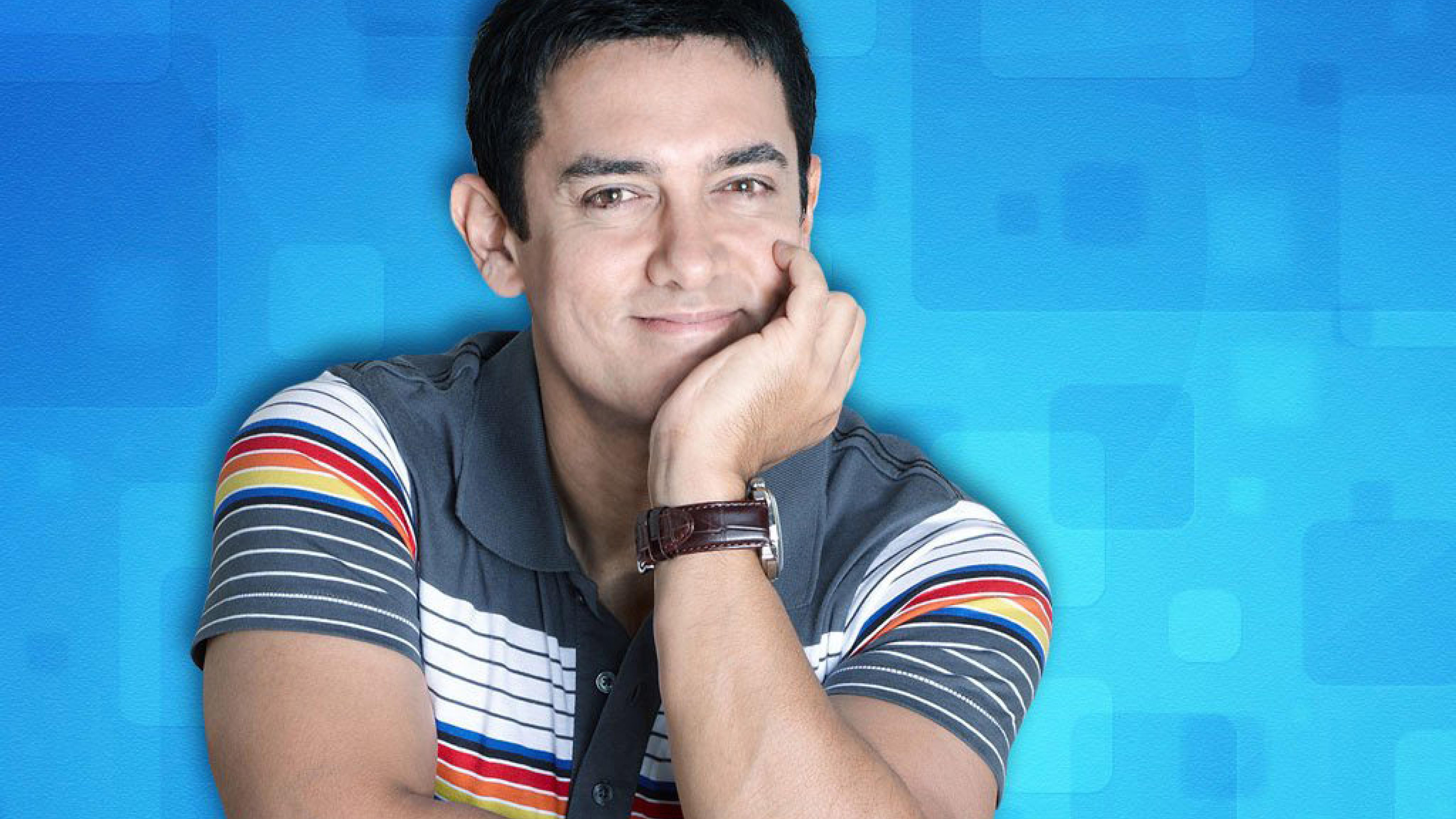 Aamir Khan Smile Look Photoshoot, HD Wallpaper