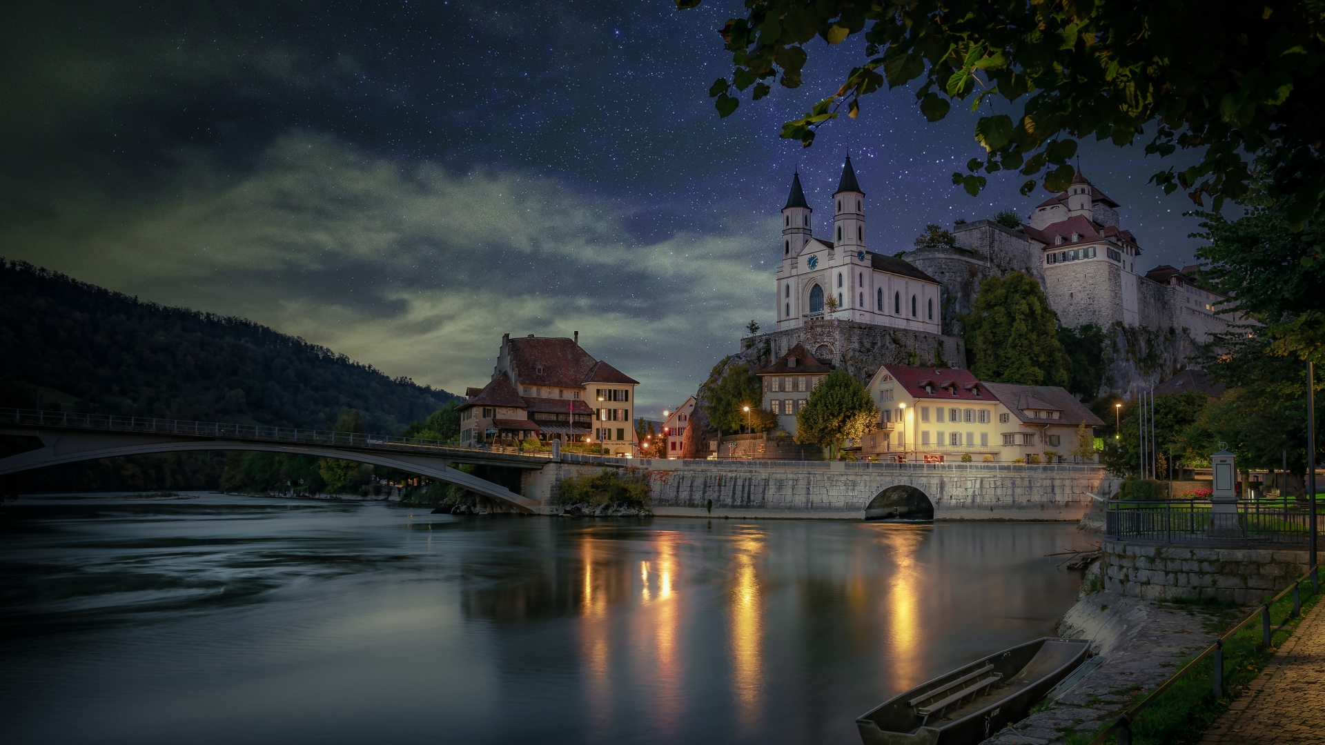 1920x1080 Aarburg Castle Switzerland 1080P Laptop Full HD ...
