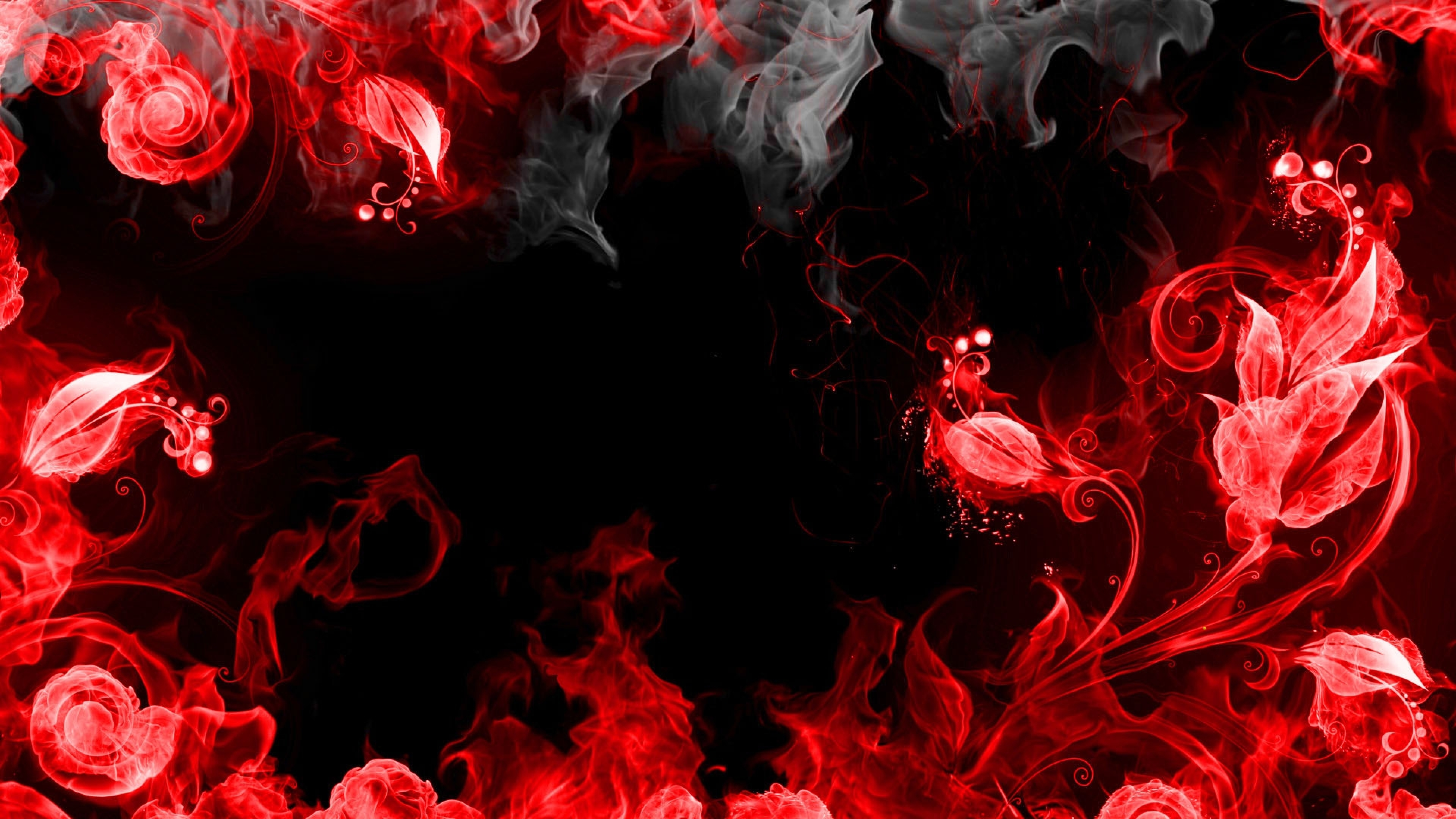 3840x2160 Abstraction Red Smoke 4k Wallpaper Hd Abstract 4k