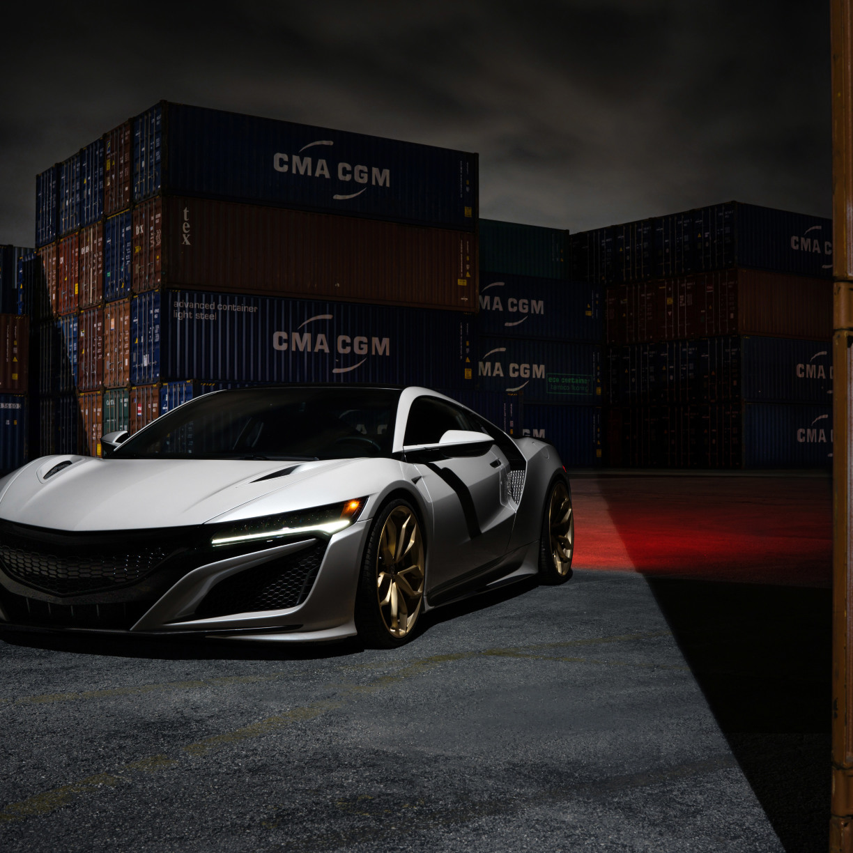 Acura Nsx, HD 8K Wallpaper