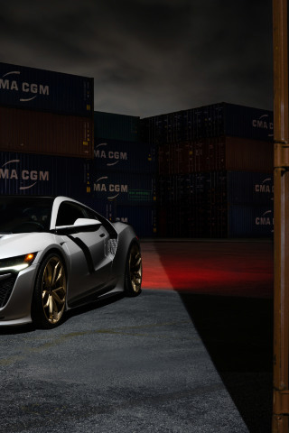320x480 Acura NSX Apple Iphone,iPod Touch, Galaxy Ace