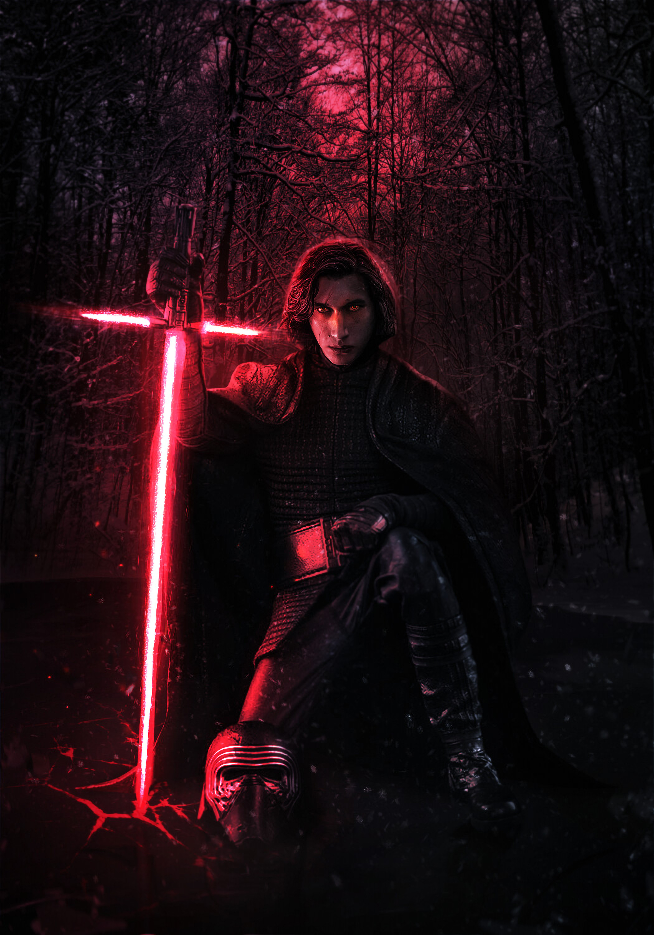 1125x2436 Adam Driver Kylo Ren Iphone Xs Iphone 10 Iphone X Wallpaper Hd Movies 4k Wallpapers Images Photos And Background