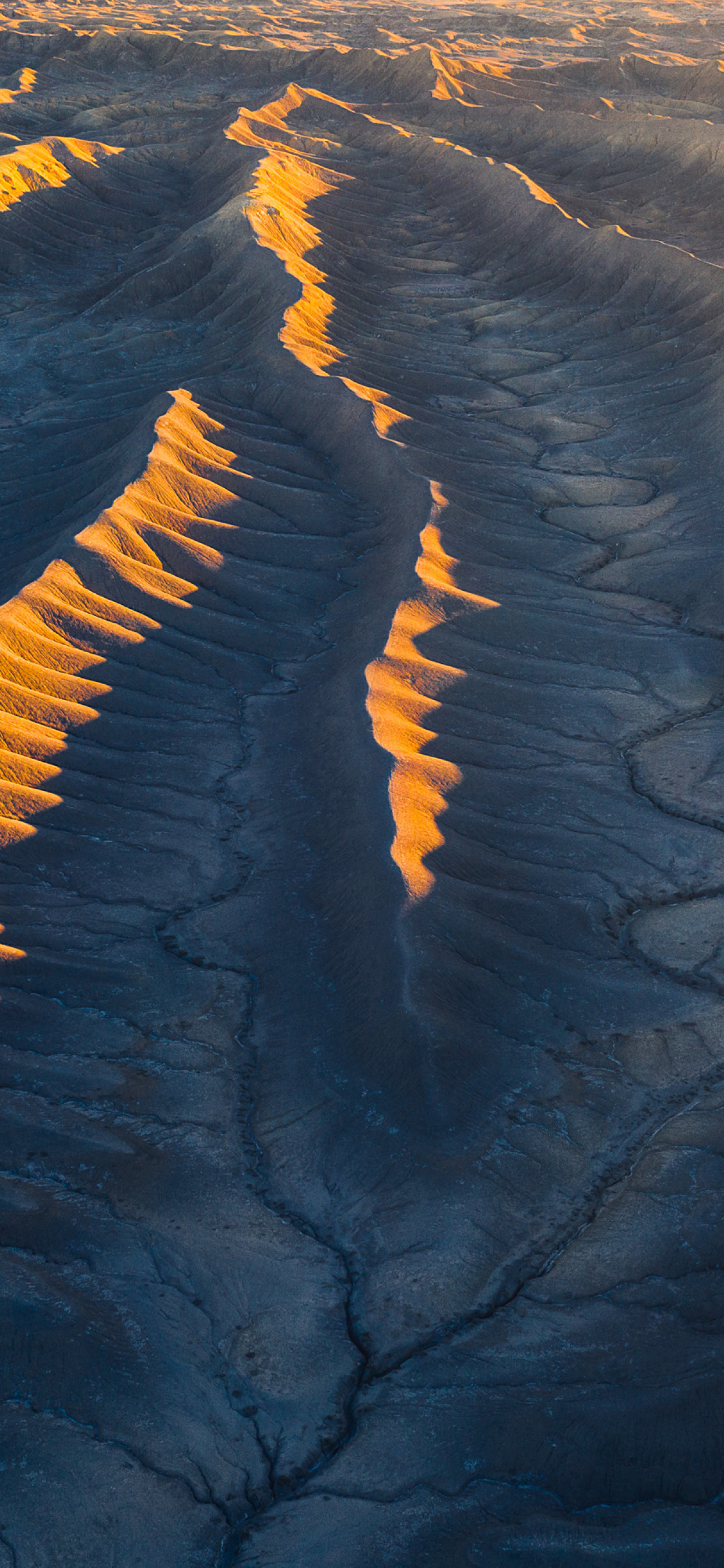 Aerial View From Utah Desert Wallpaper in 1242x2688 Resolution